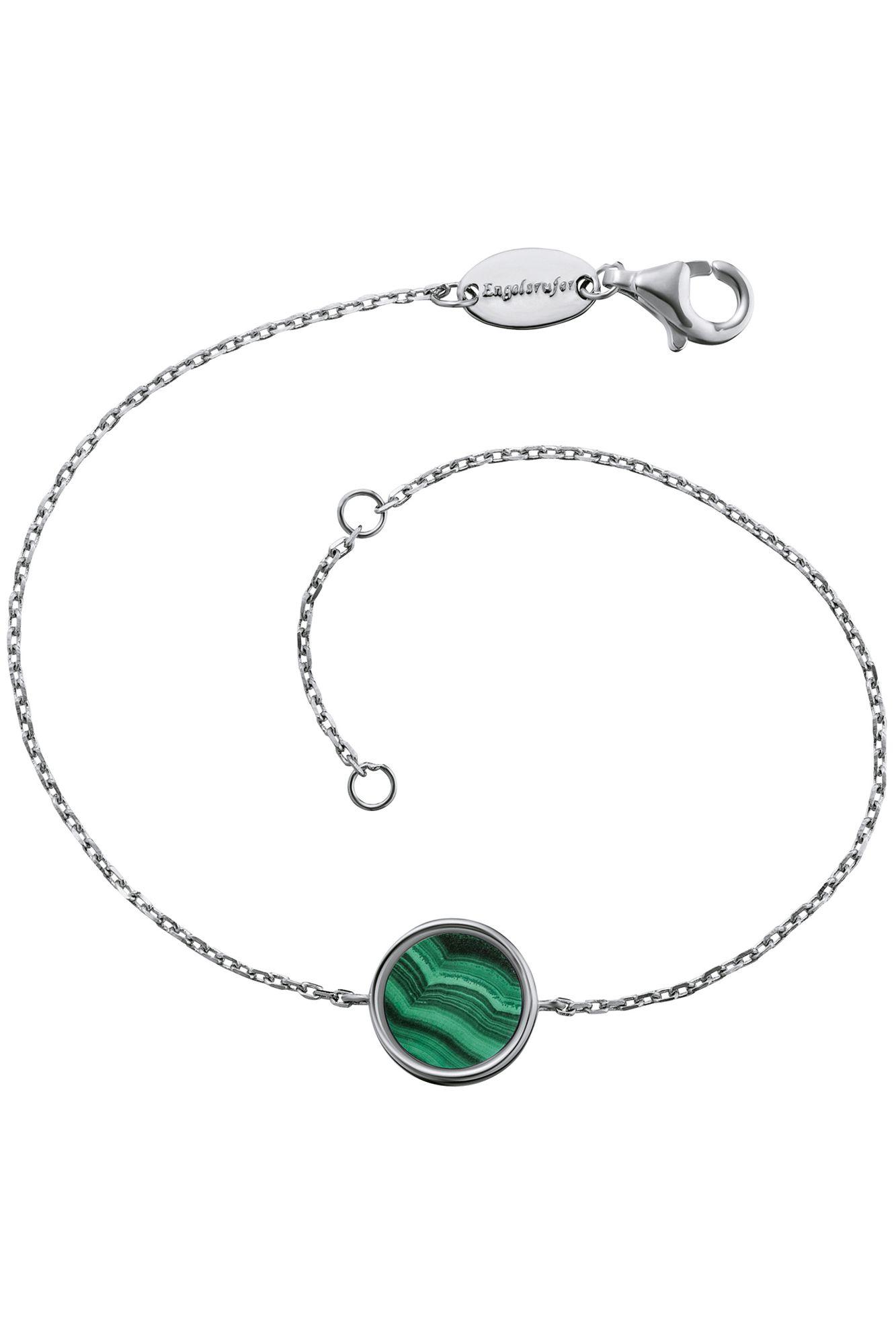Engelsrufer ERB-LILGEM-ML Damen Armband Powerful Stone Grün 19 cm