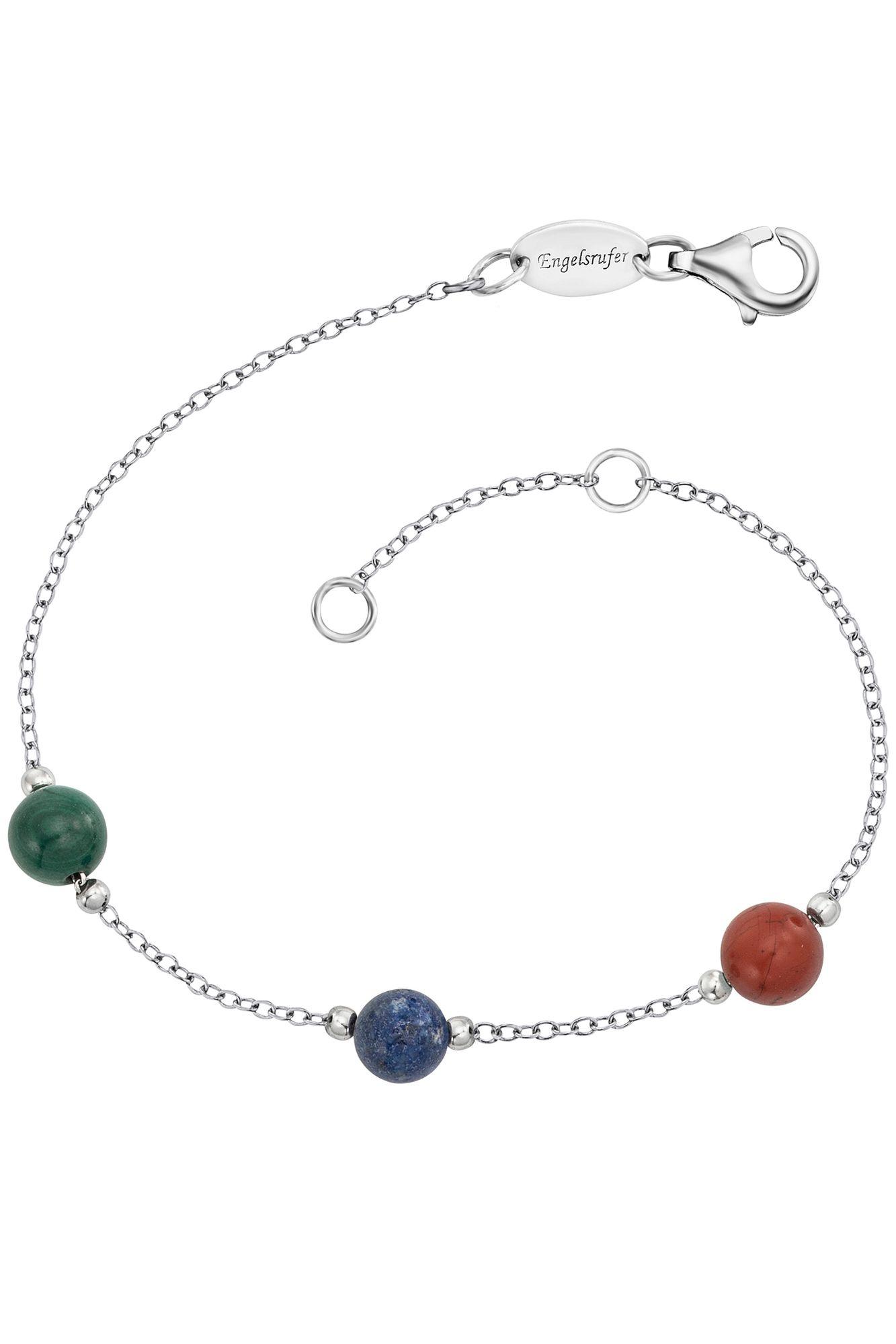 Engelsrufer ERB-LILGEM-3ST-02 Damen Armband Powerful Stone 19 cm