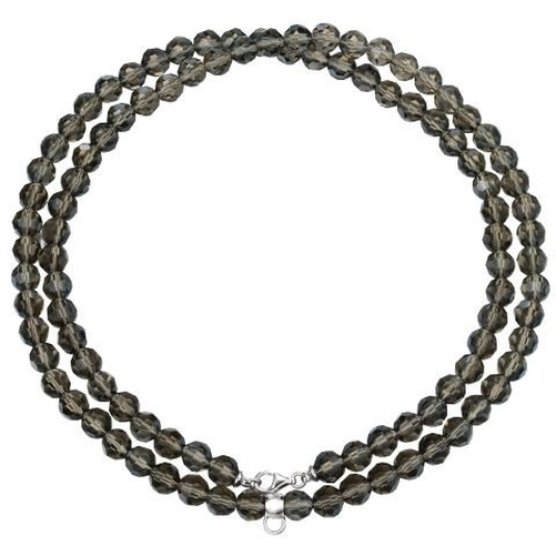 Esprit Charm ESNL91755I800 Collier Kette Silber taupe stone necklace