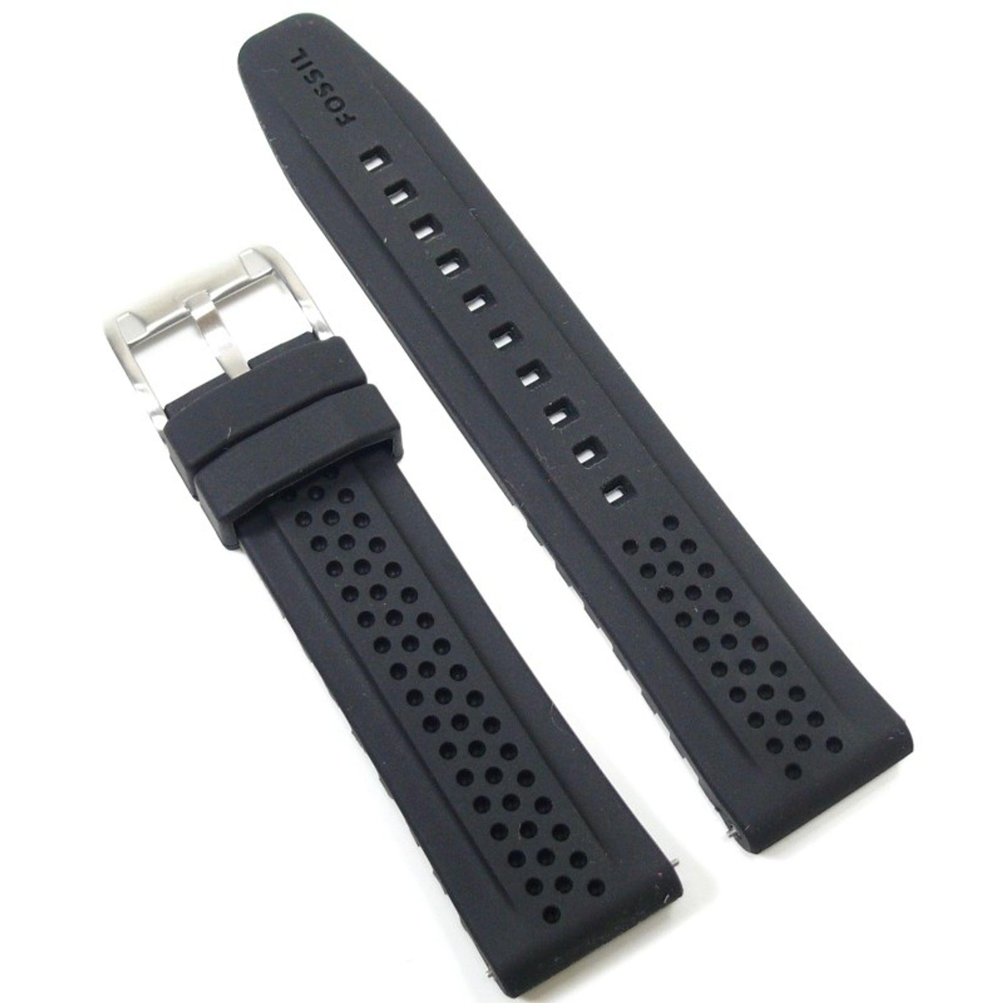 Fossil Uhrband LB-FS4613 Original FS 4613 Kautschuckband 22 mm
