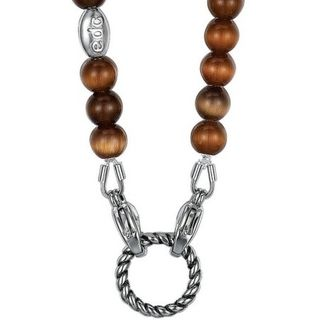 Esprit edc EENL10242A Charms Collier color play Glasstein braun – Bild 1