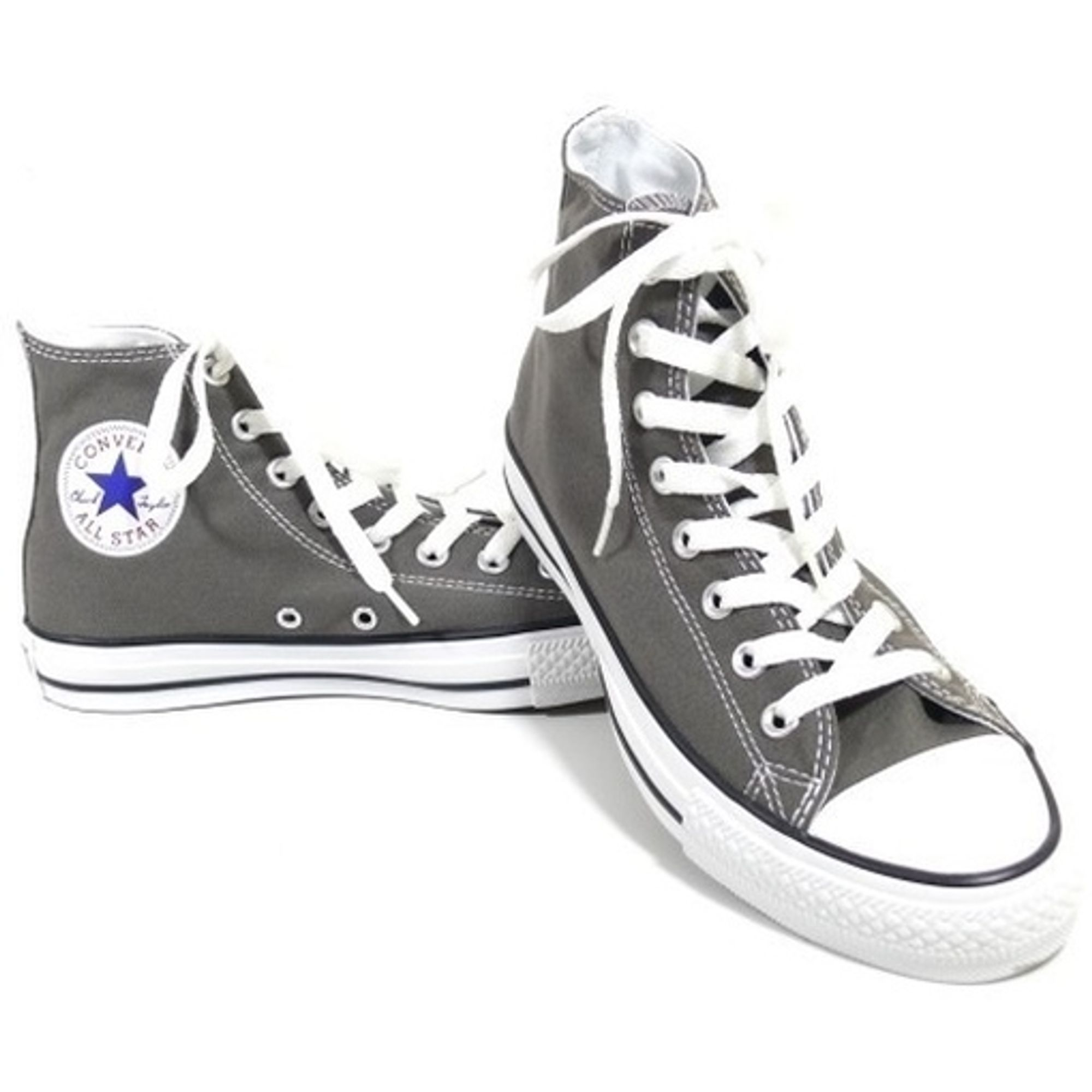 the latest b3717 2a97f Details zu CONVERSE DAMEN SCHUHE ALL STAR HI GRAU 1J793 CHUCKS SNEAKERS GR.  37,5