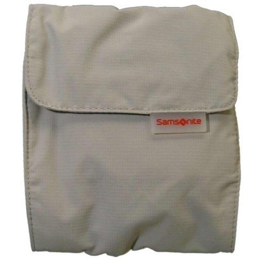 Samsonite Deluxe multi-pocket neck pouch Beige 45559-1030 Brustbeutel