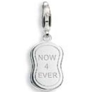 Esprit 4398335 Charms Damen Charm Silber now 4 ever