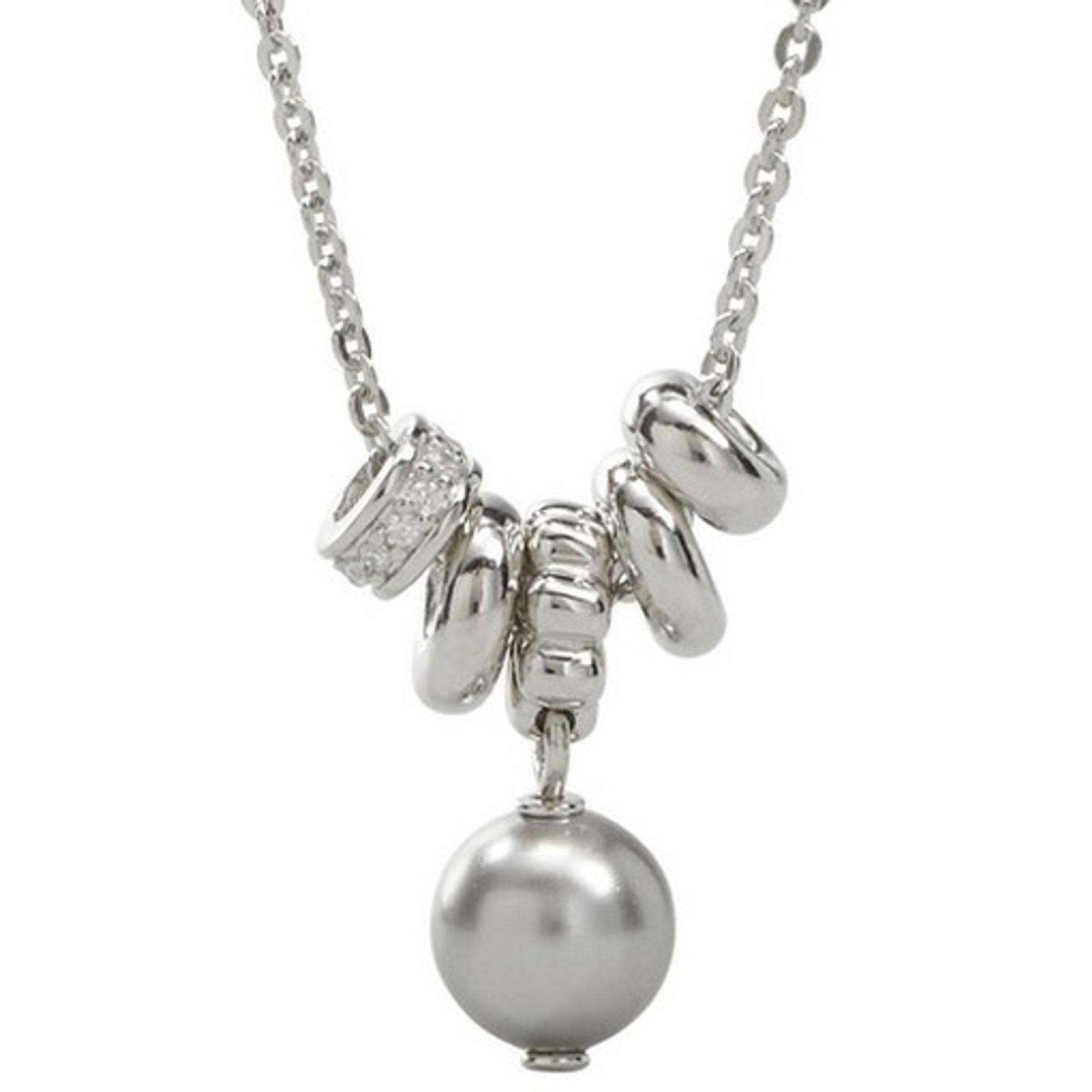 Fossil Halskette JFS00020040 Damen Collier Sterling-Silber 925 47 cm