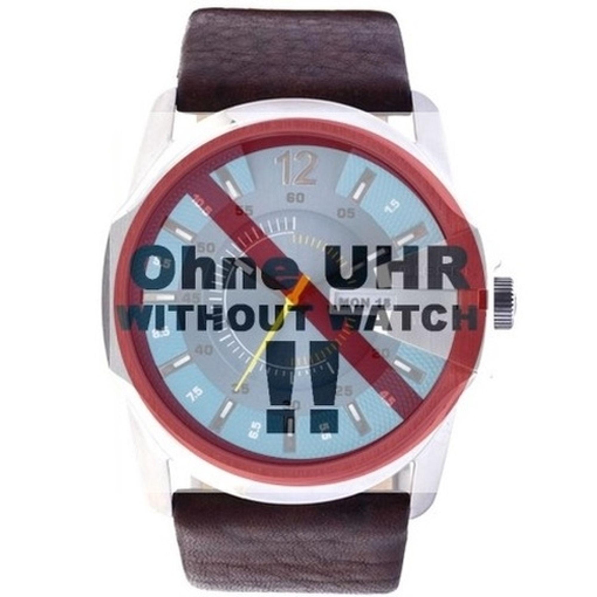 Diesel Uhrenarmband LB- DZ1399 Original Ersatzband DZ 1399 Leder 26 mm