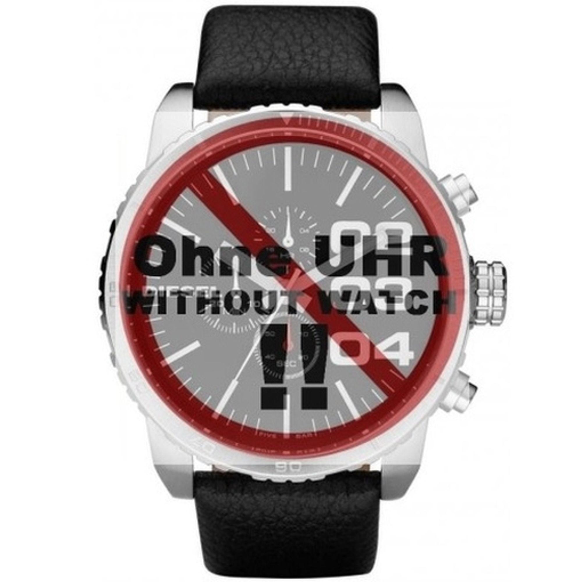 Diesel Uhrenarmband LB- DZ4208 Original Ersatzband DZ 4208 Leder 26 mm