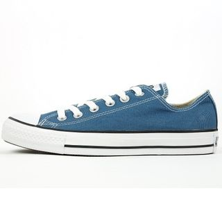 Converse Damen Schuhe All Star Ox Blau 136816C Chucks Sneakers Gr/37,5 – Bild 1