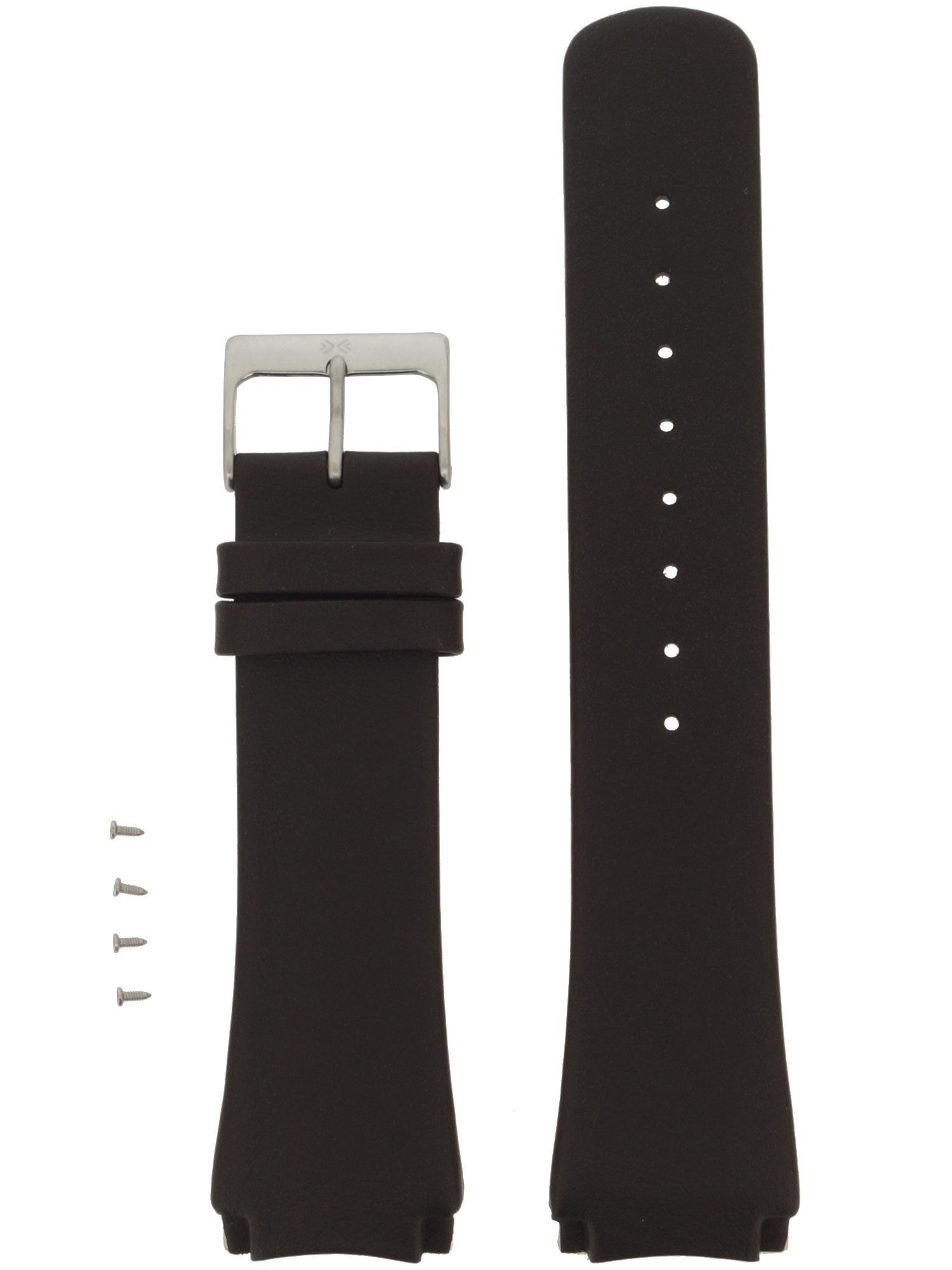 Skagen Uhrenarmband LB-989XLSLD Original Ersatzband 25 mm Braun
