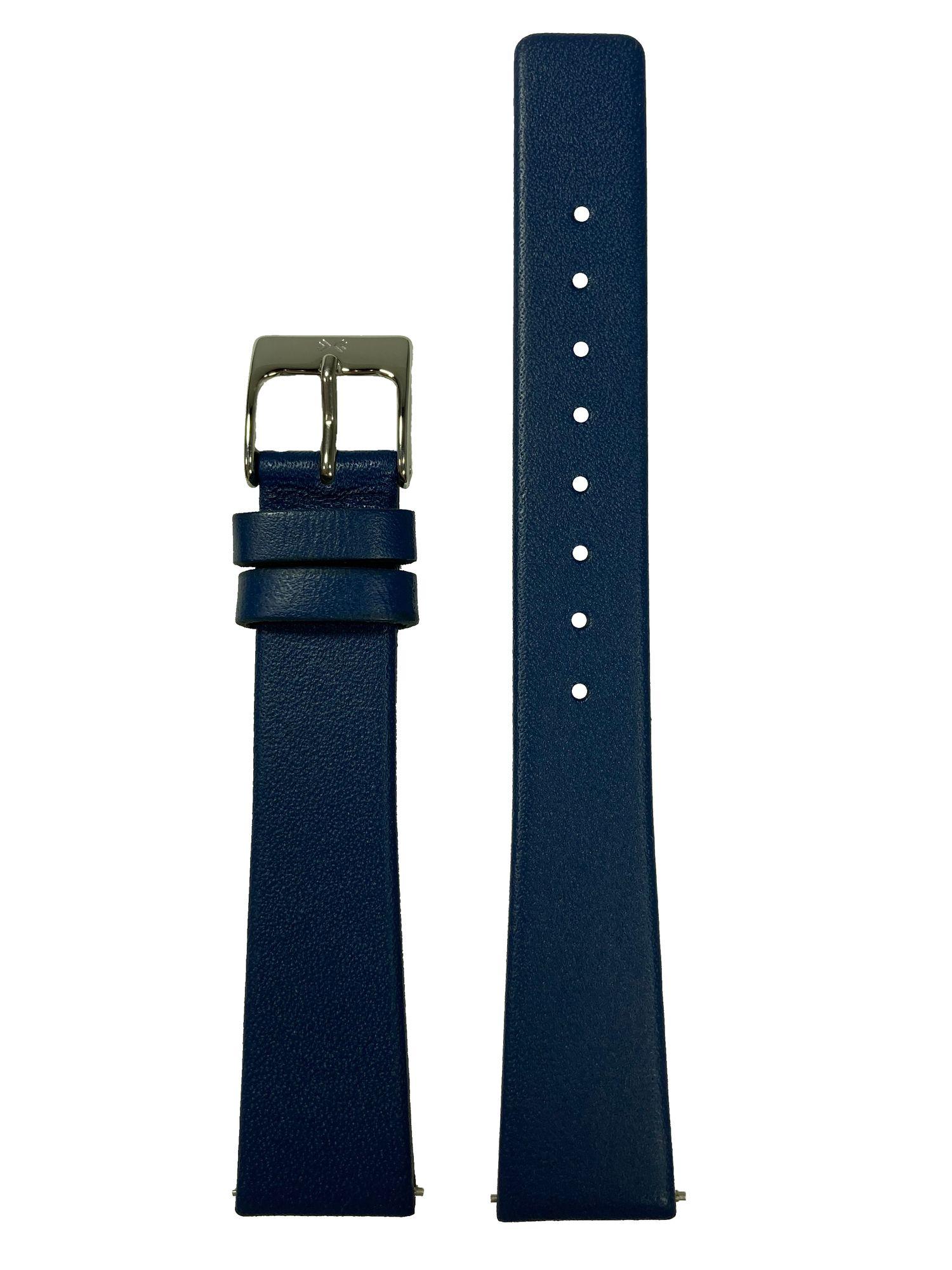 Skagen Uhrenarmband LB-691SSLN Original Ersatzband 17 mm Blau