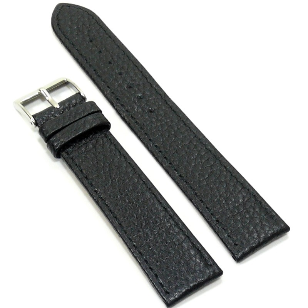 Condor Uhrenband 147241-20-10 Ersatzarmband 20 mm Überlang schwarz XL