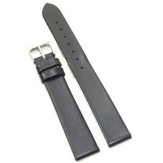Condor Uhrenband 10202-15-10 Ersatzarmband 15 mm Kalbnappa schwarz