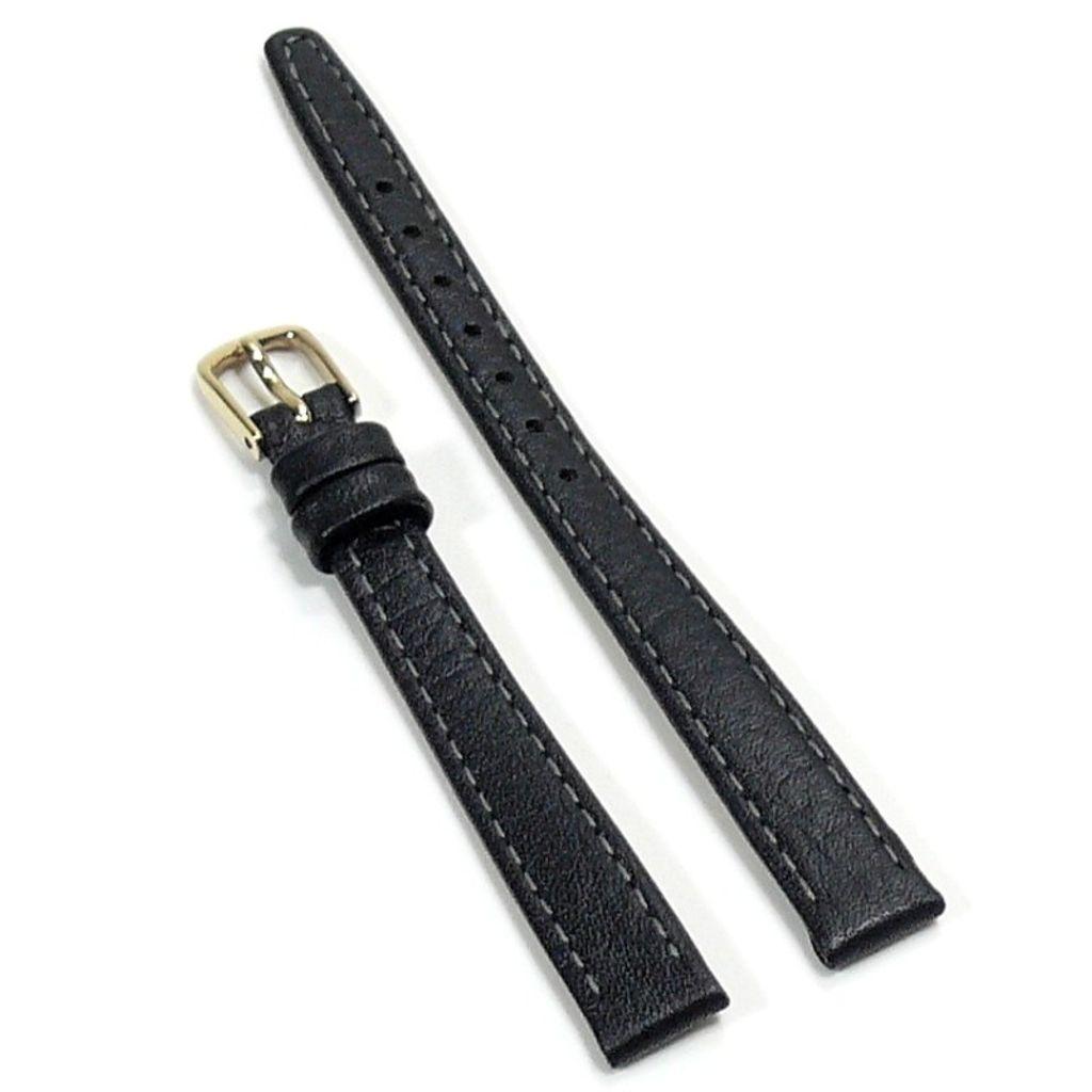 Condor Uhrenband 11820-10-10 Ersatzarmband 10 mm Kamelnarbung schwarz