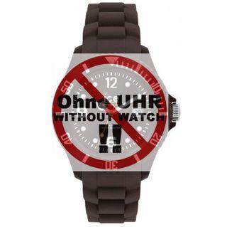 Ice-Watch Uhrenarmband LB-CT.KC.U.S.10 Silikon 20 mm Dunkelgrau