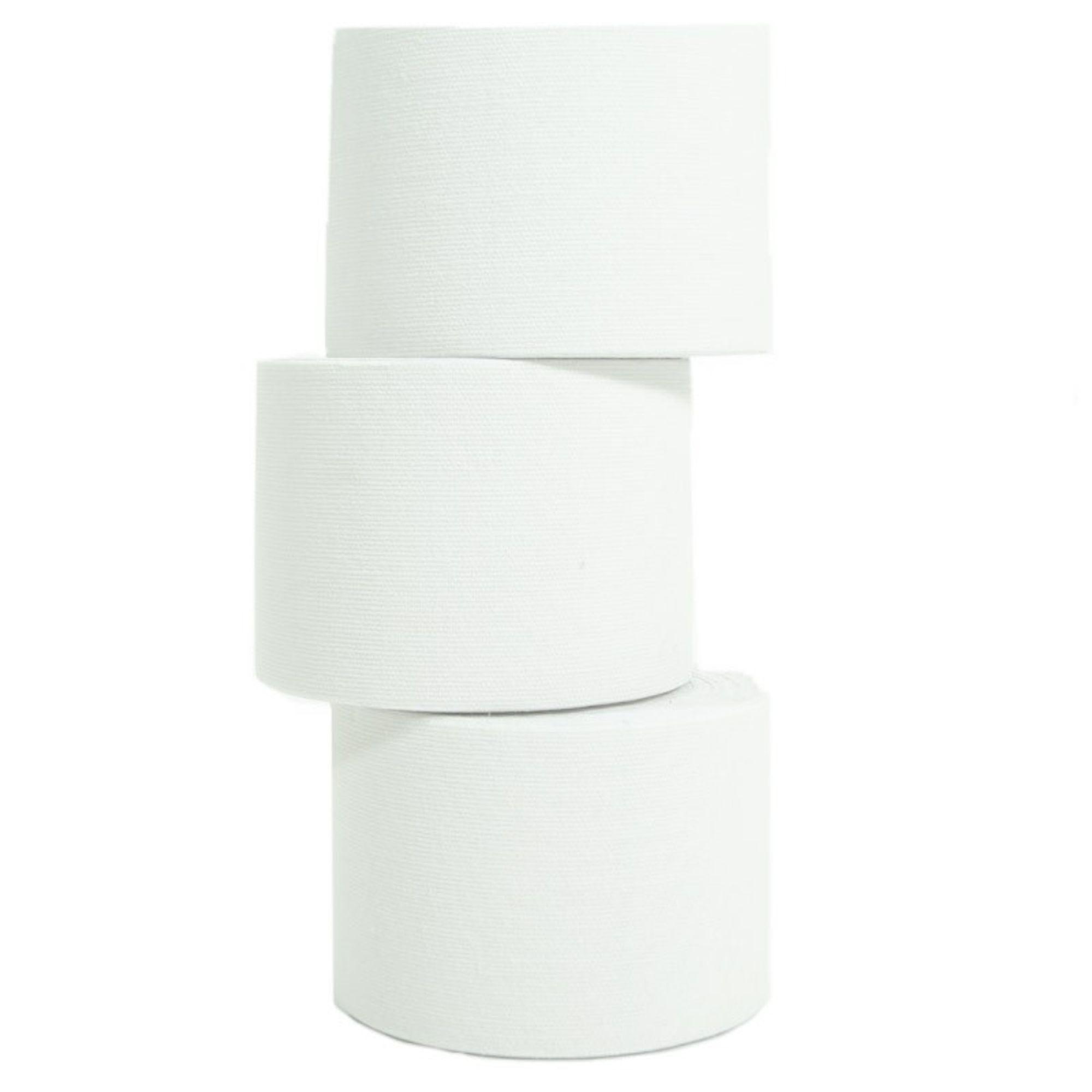 1 Rolle Kinesiologie Tape 5 m x 5,0 cm weiß