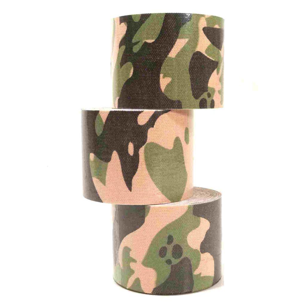 4 Rollen Kinesiologie Tape 5 m x 5,0 cm tarnfarbe (EUR 0,69 / m)