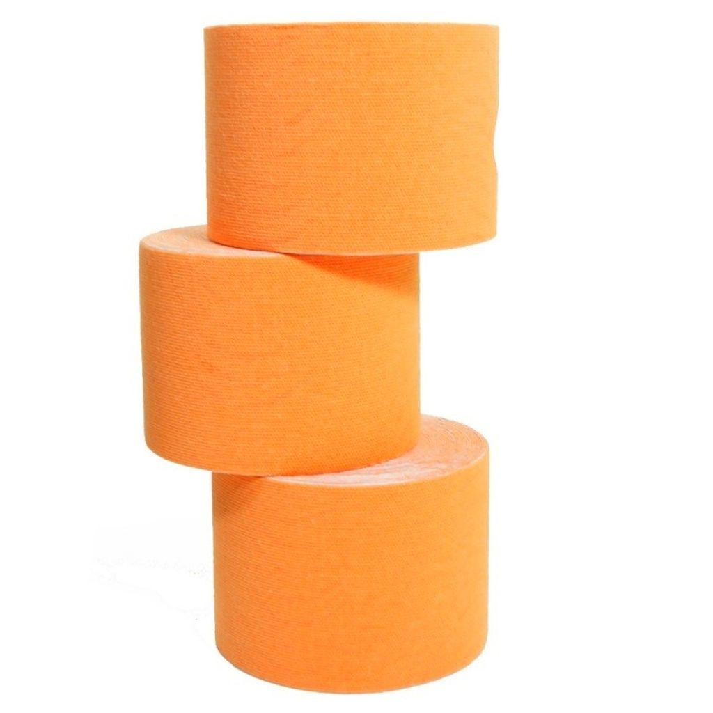 6 Rollen Kinesiologie-Tape 5 m x 5,0 cm orange (EUR 0,632 / m)