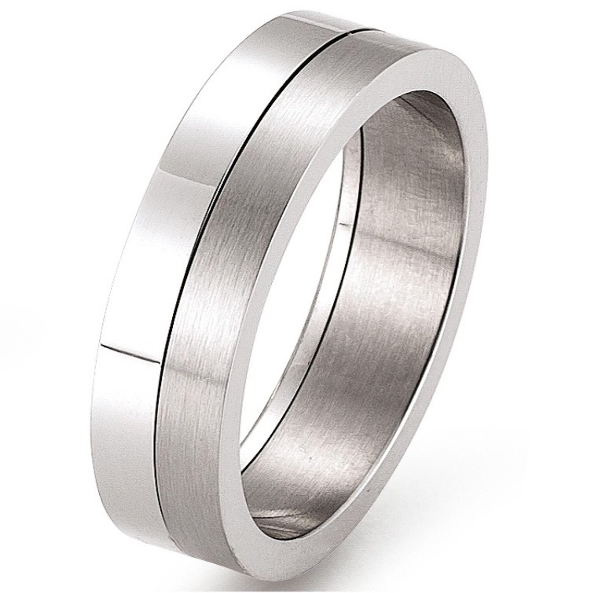 GOOIX Friendship 443-188-000-490 Ring Edelstahl 49 (15.6)