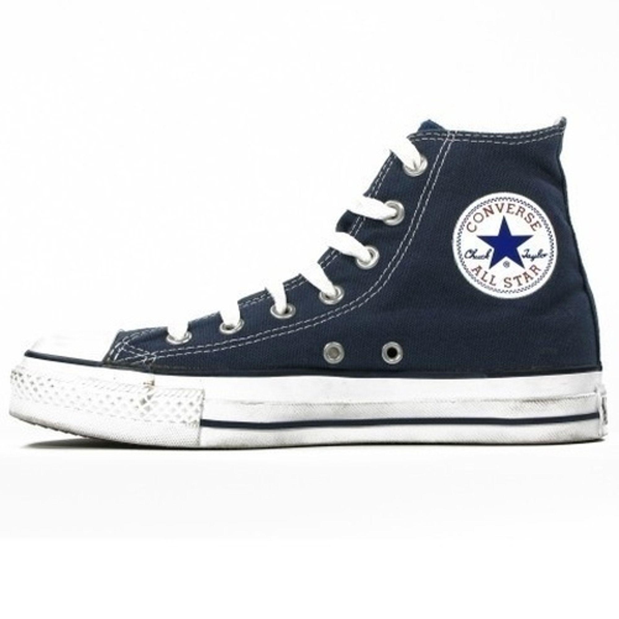 Converse Damen Schuhe All Star Hi Blau M9622C Sneakers Chucks Gr. 38 | starlabels outdoor lifestyle leder