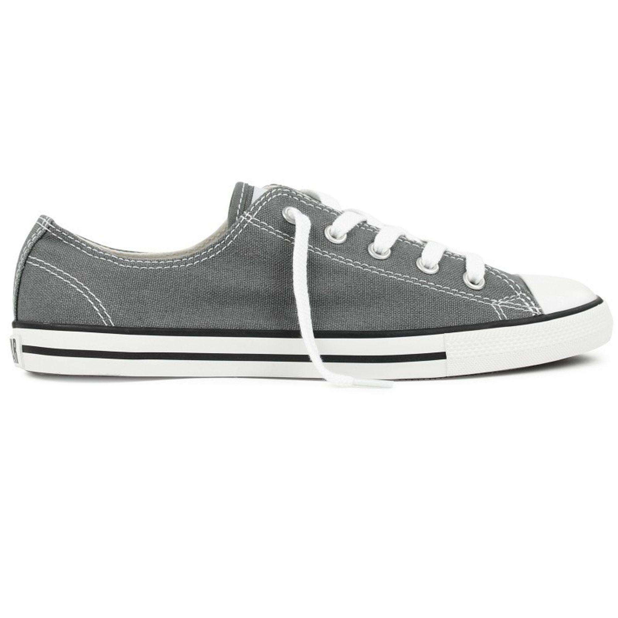 converse damen schuhe ct dainty ox grau 532353c sneakers. Black Bedroom Furniture Sets. Home Design Ideas