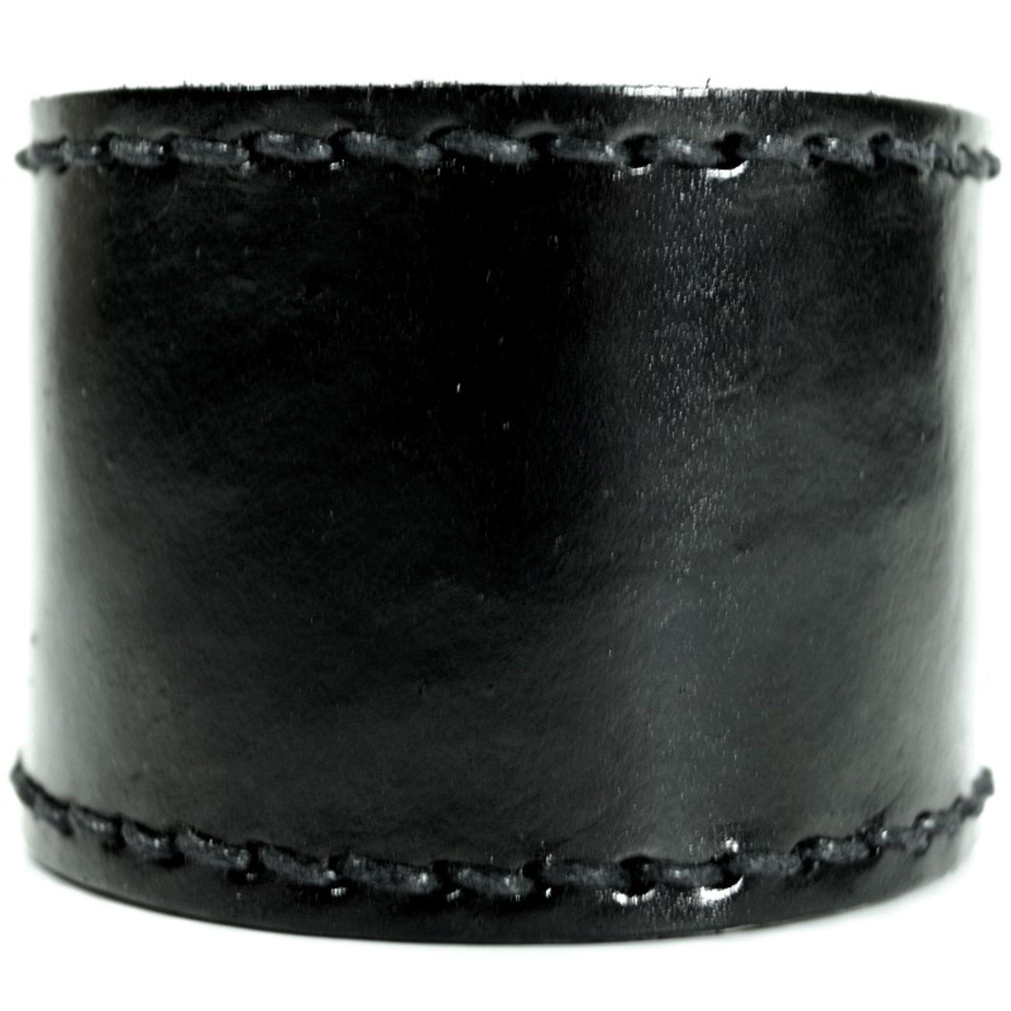 CJBB1943 Herren Armband Leder schwarz 22 cm