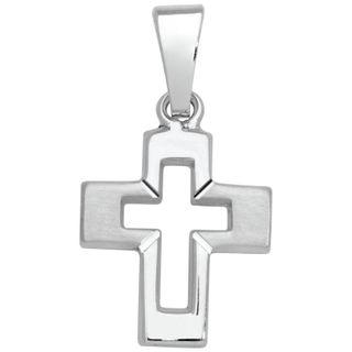Basic Silber SKE14 Kinderschmuck Anhänger Kinder Kreuz Silber