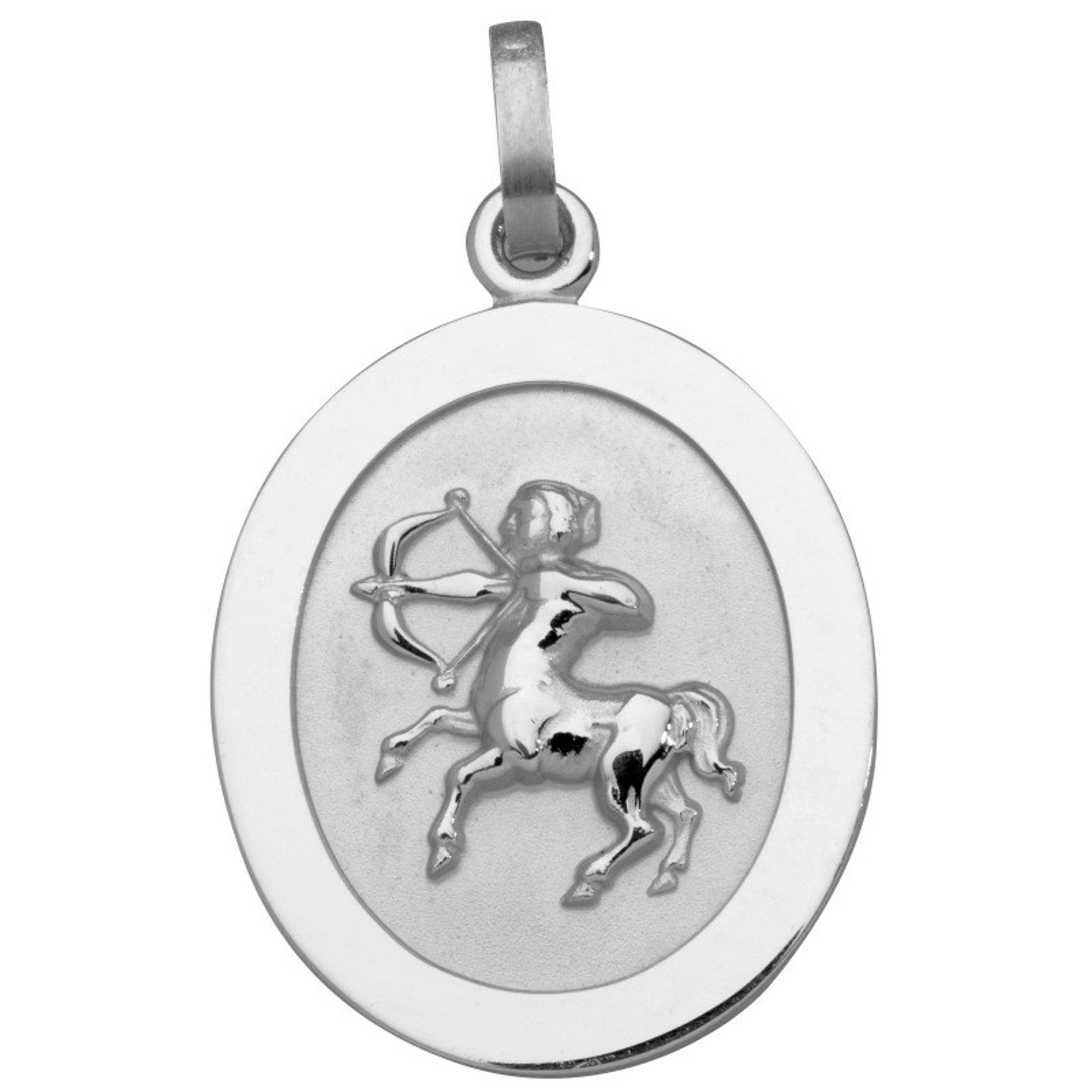Basic Silber SZ112 Herren Anhänger Sternzeichen Schütze Silber