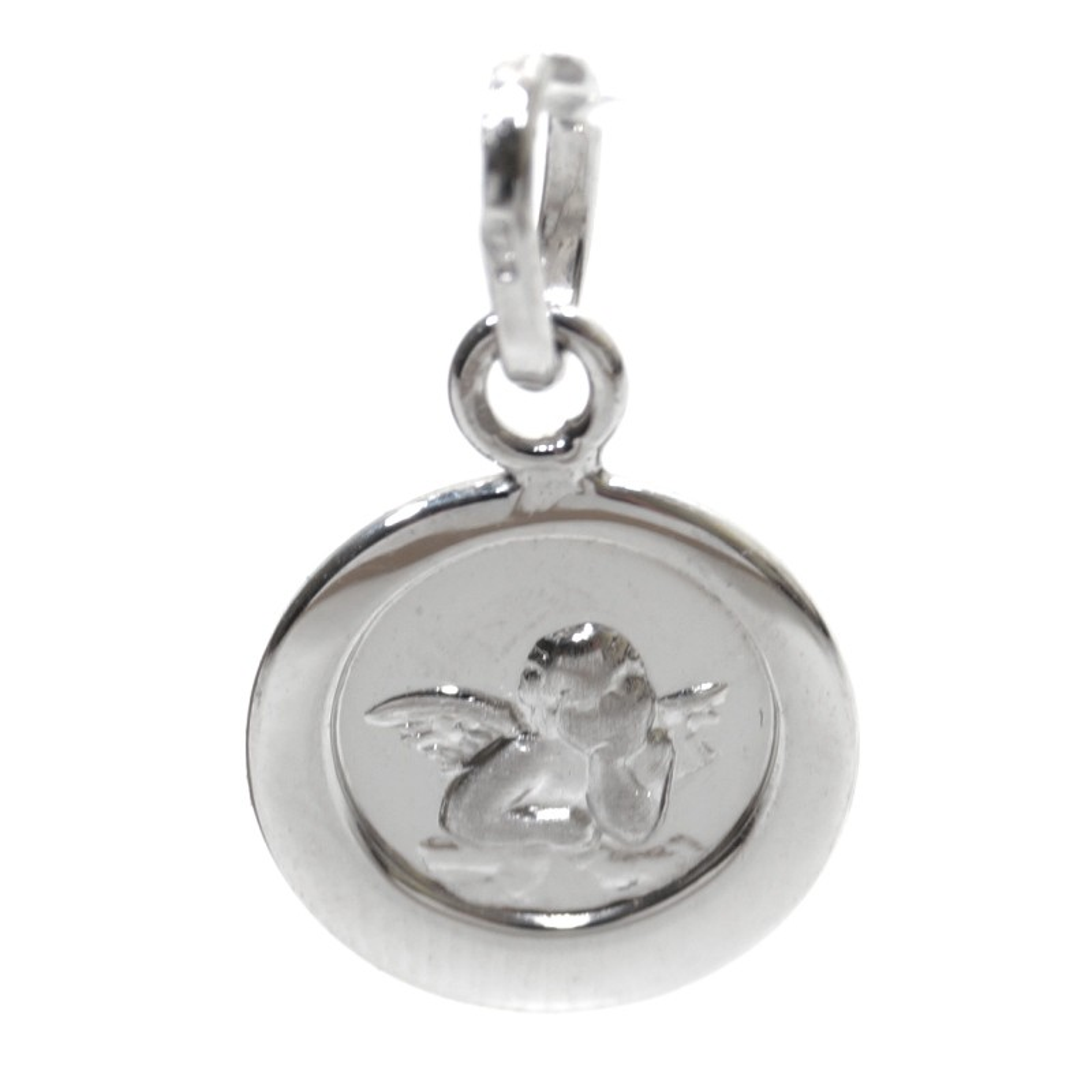 Basic Silber STG10 Kinder Anhänger Schutzengel Silber Kinderschmuck