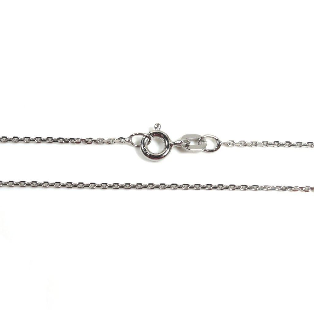 Basic Silber AN01.20.36R Kette Baby Anker Halskette Silber 36 cm