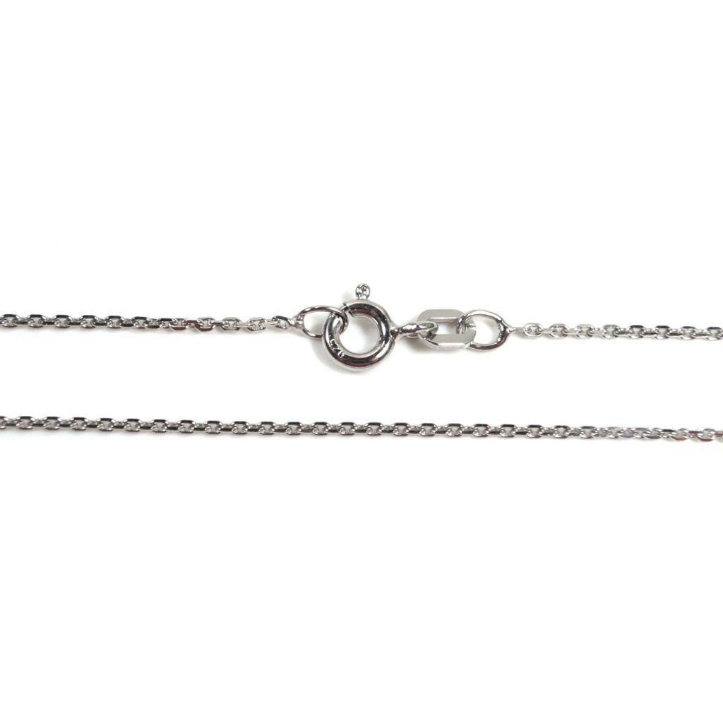 Basic Silber AN01.20.55R Kette Anker Unisex Halskette Silber 55 cm