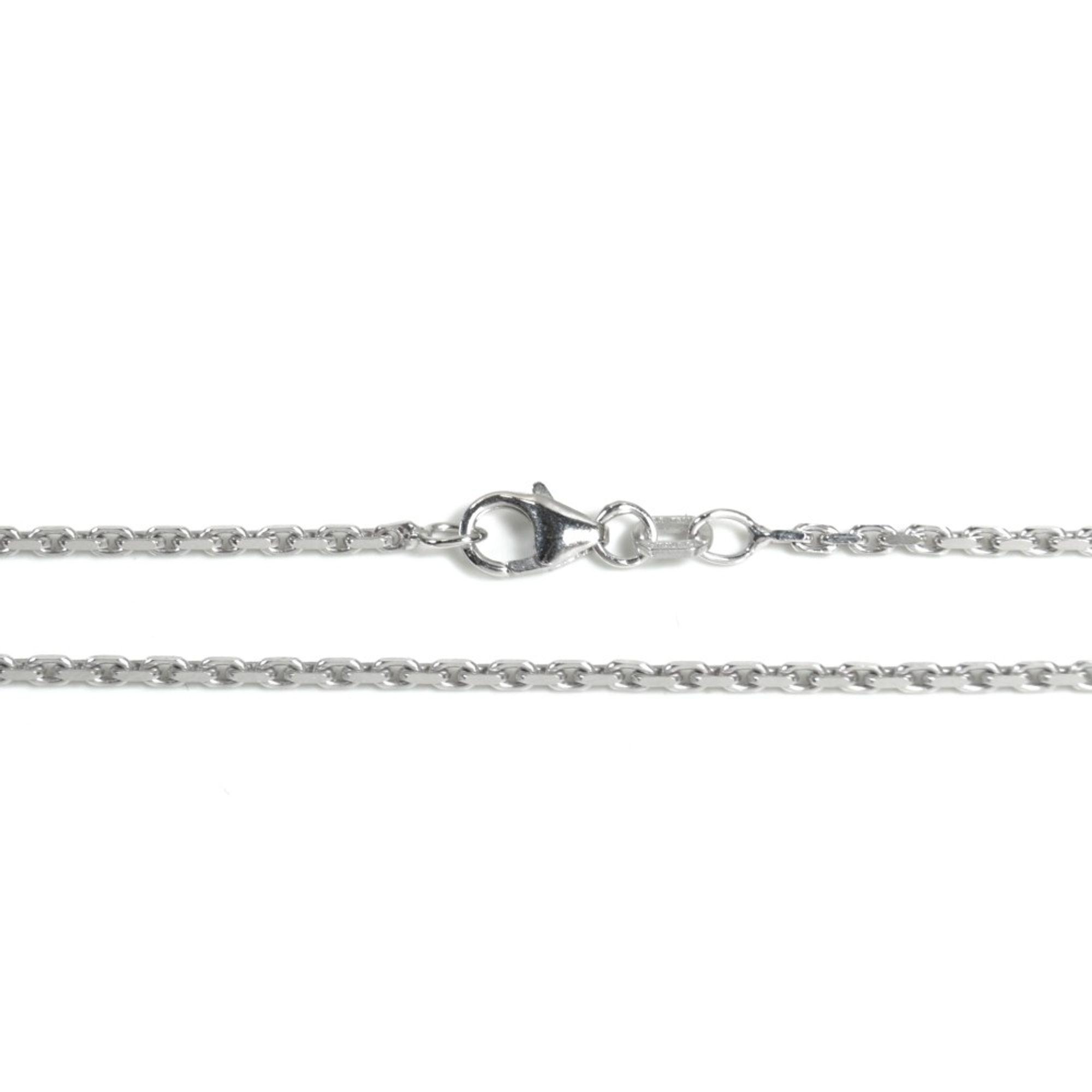 Basic Silber AN02.00.55R Kette Anker Unisex Halskette Silber 55 cm