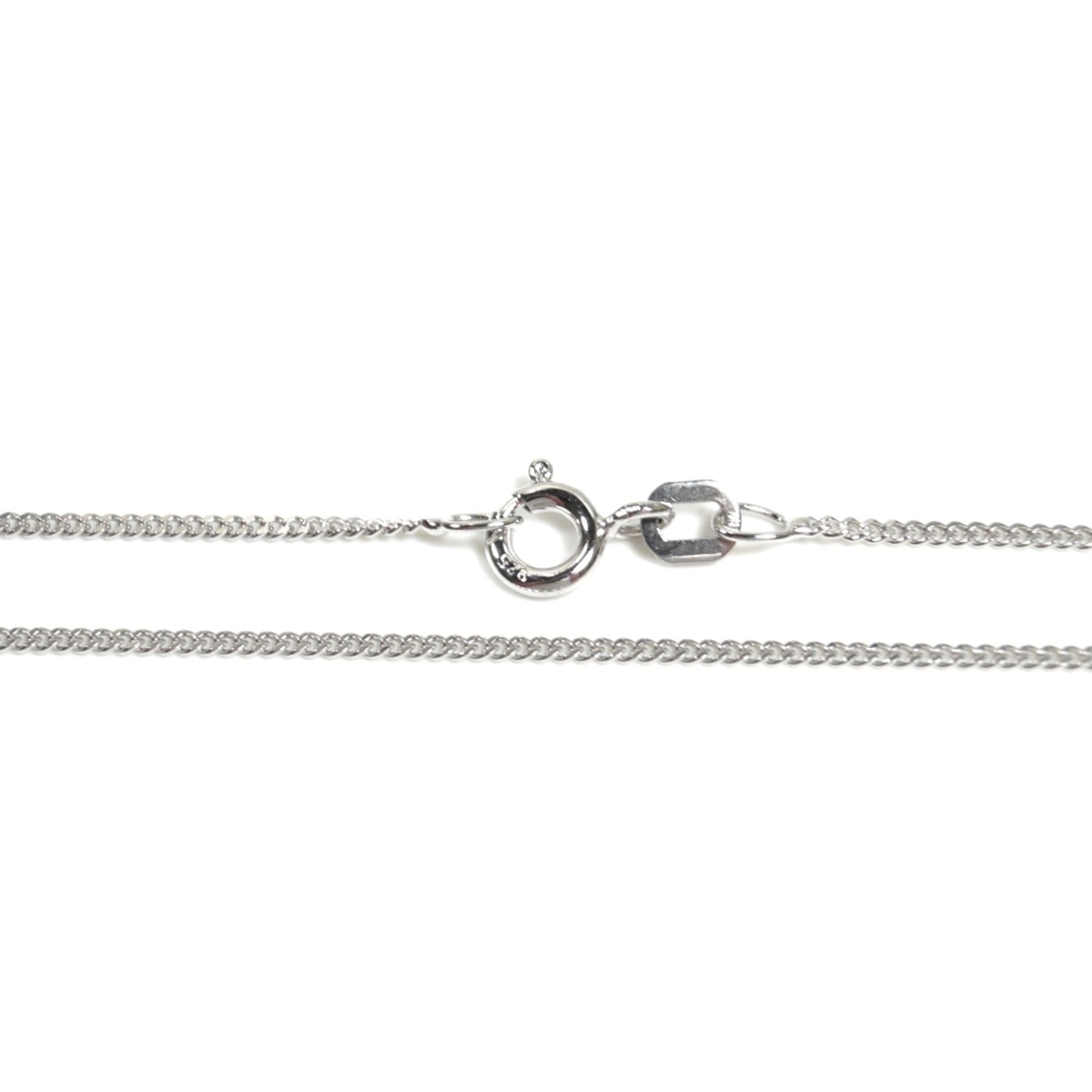 Basic Silber PF01.20.45R Kette Panzer Unisex Halskette Silber 45 cm