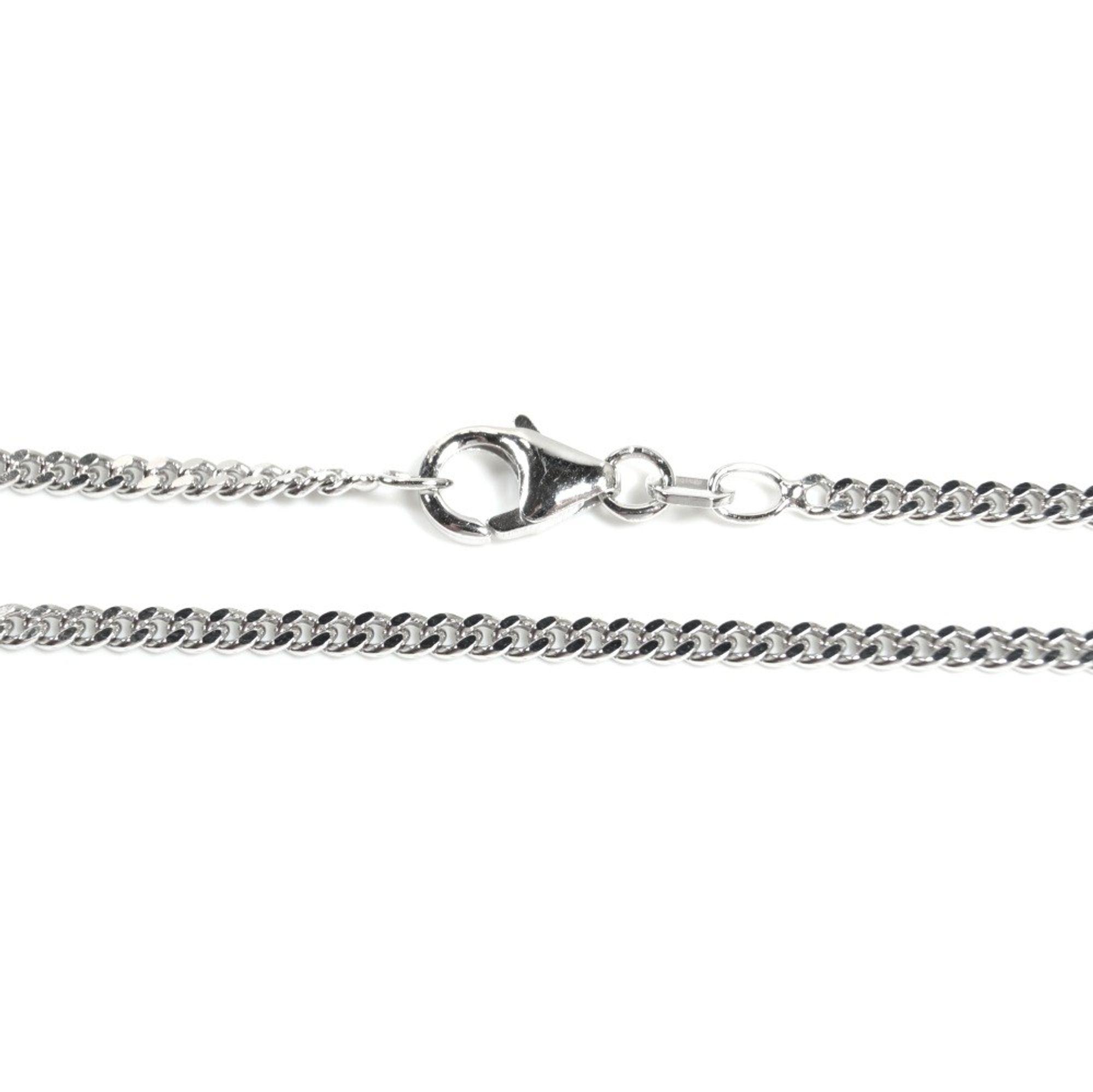 Basic Silber PF02.50.60R Kette Panzer Unisex Halskette Silber 60 cm