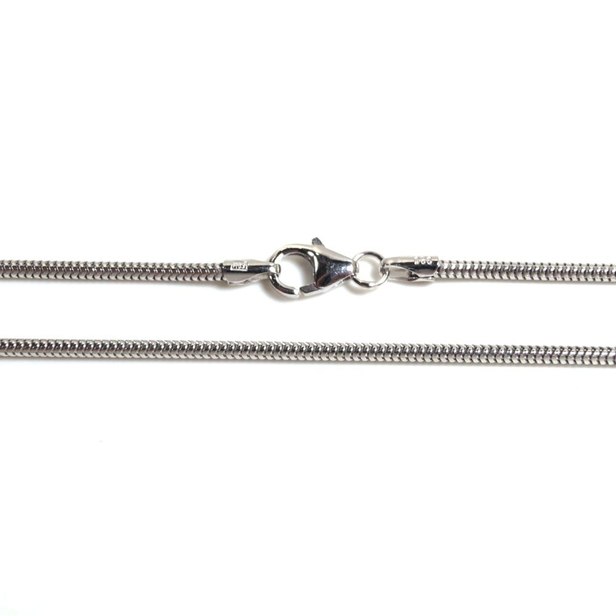 Basic Silber SC01.90.50R Kette Schlangen Unisex Halskette Silber 50 cm
