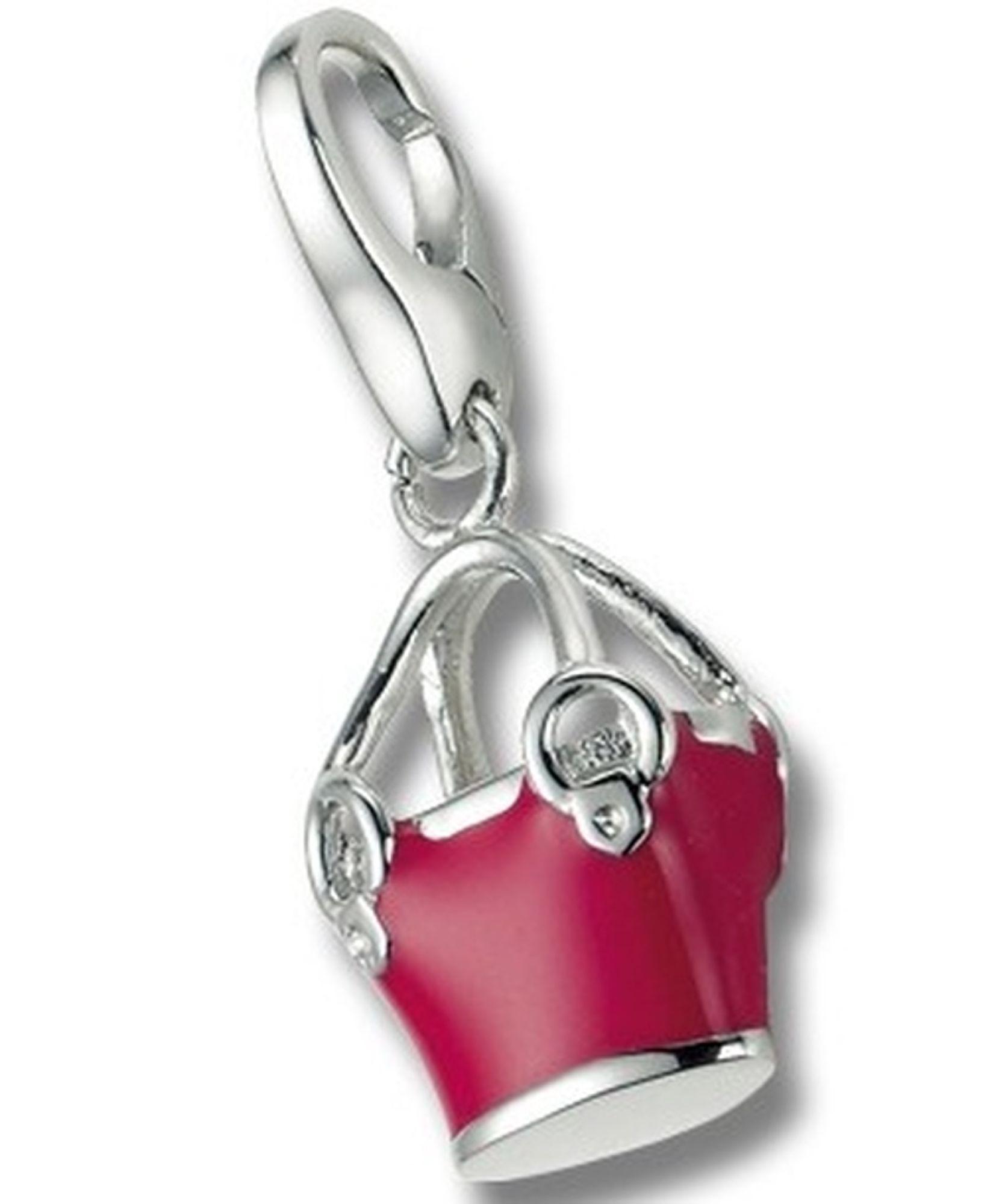 Giorgio Martello 352-805889 Charms Charm Silber Einkaufstasche pink