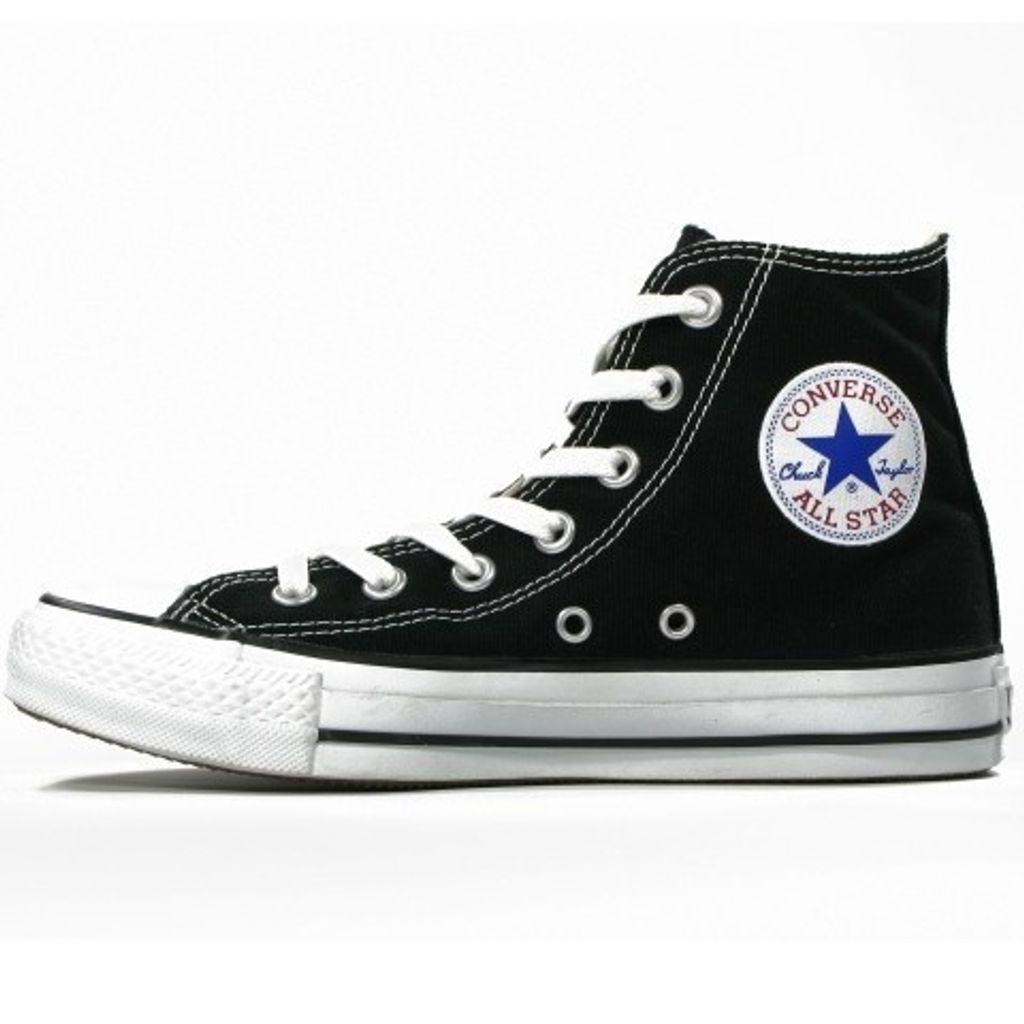Converse Damen Schuhe All Star Hi Schwarz M9160C Sneakers Gr. 37,5