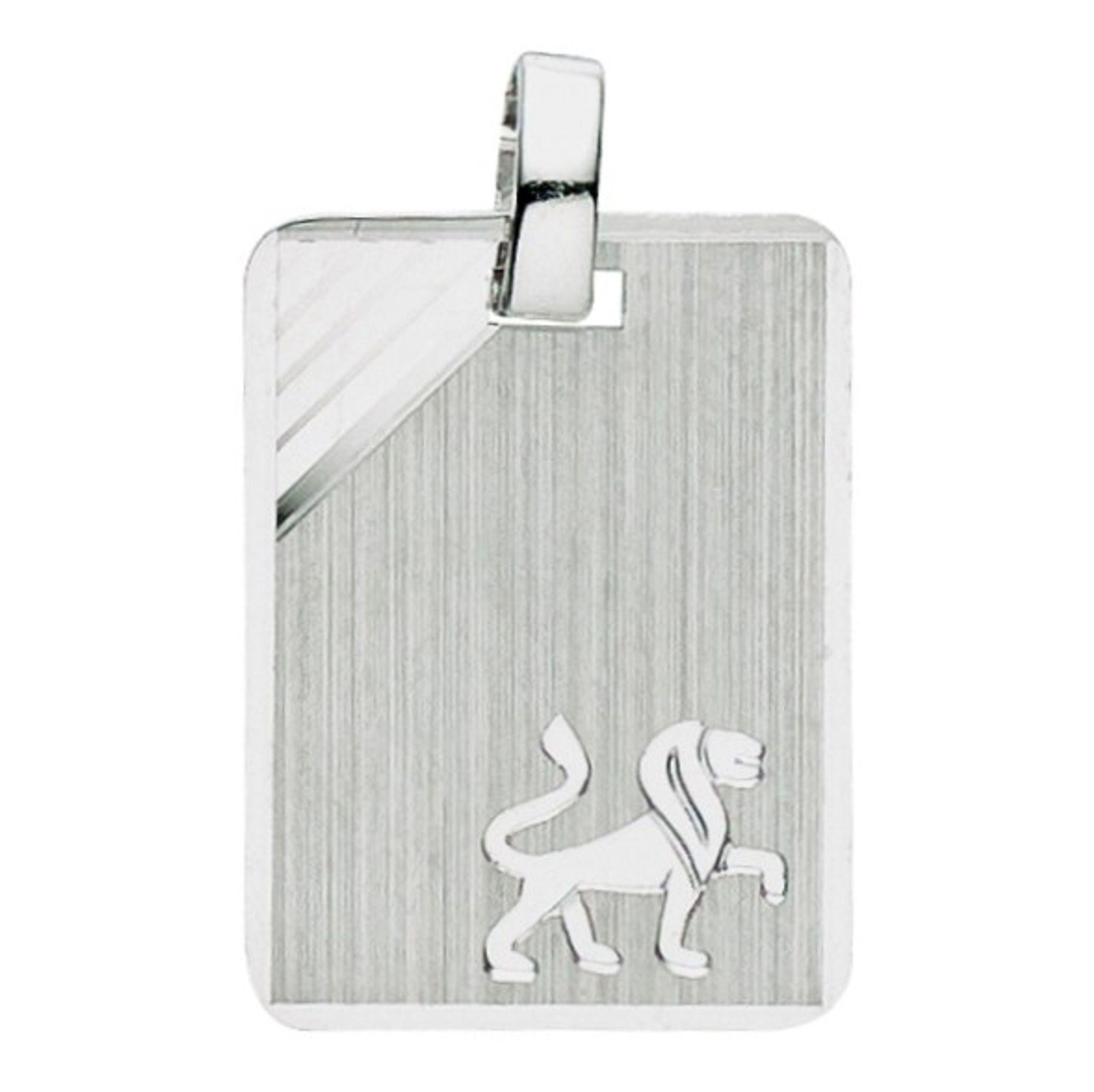 Basic Silber 24.9017SLO Herren Anhänger Sternzeichen Löwe Silber