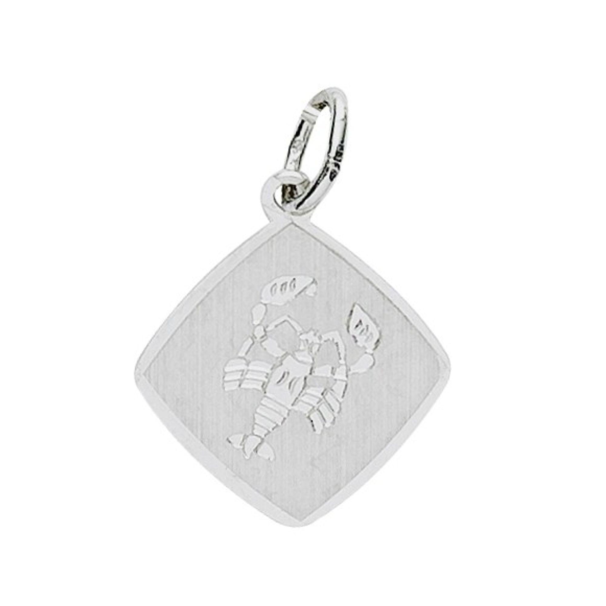 Basic Silber 24.9018SKR Damen Anhänger Sternzeichen Krebs Silber