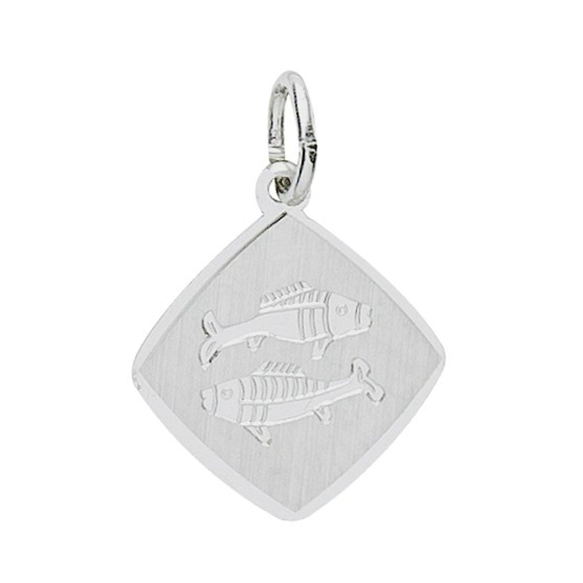 Basic Silber 24.9018SFI Damen Anhänger Sternzeichen Fische Silber