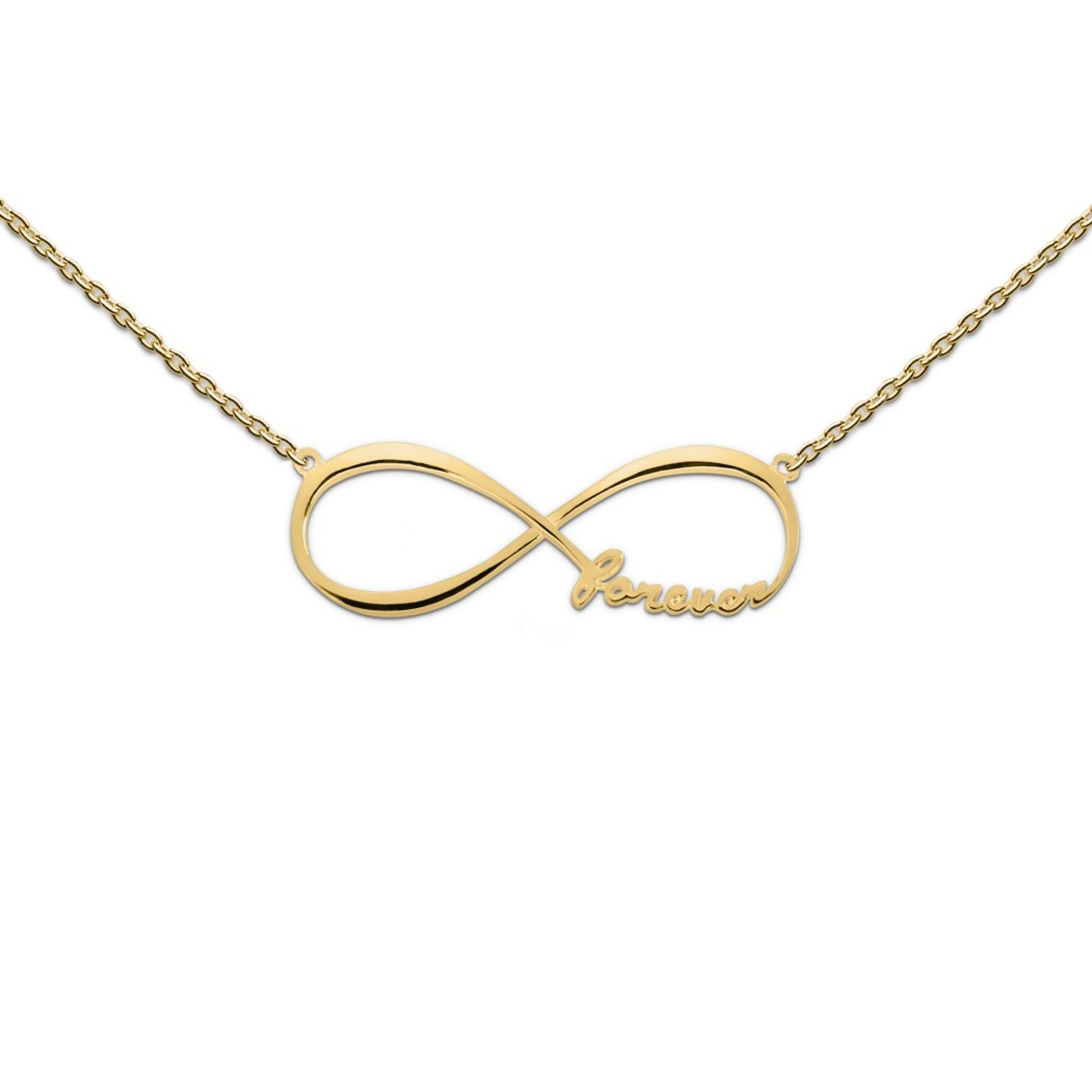 heart to get N181IFO13G Damen Collier forever & together Silber