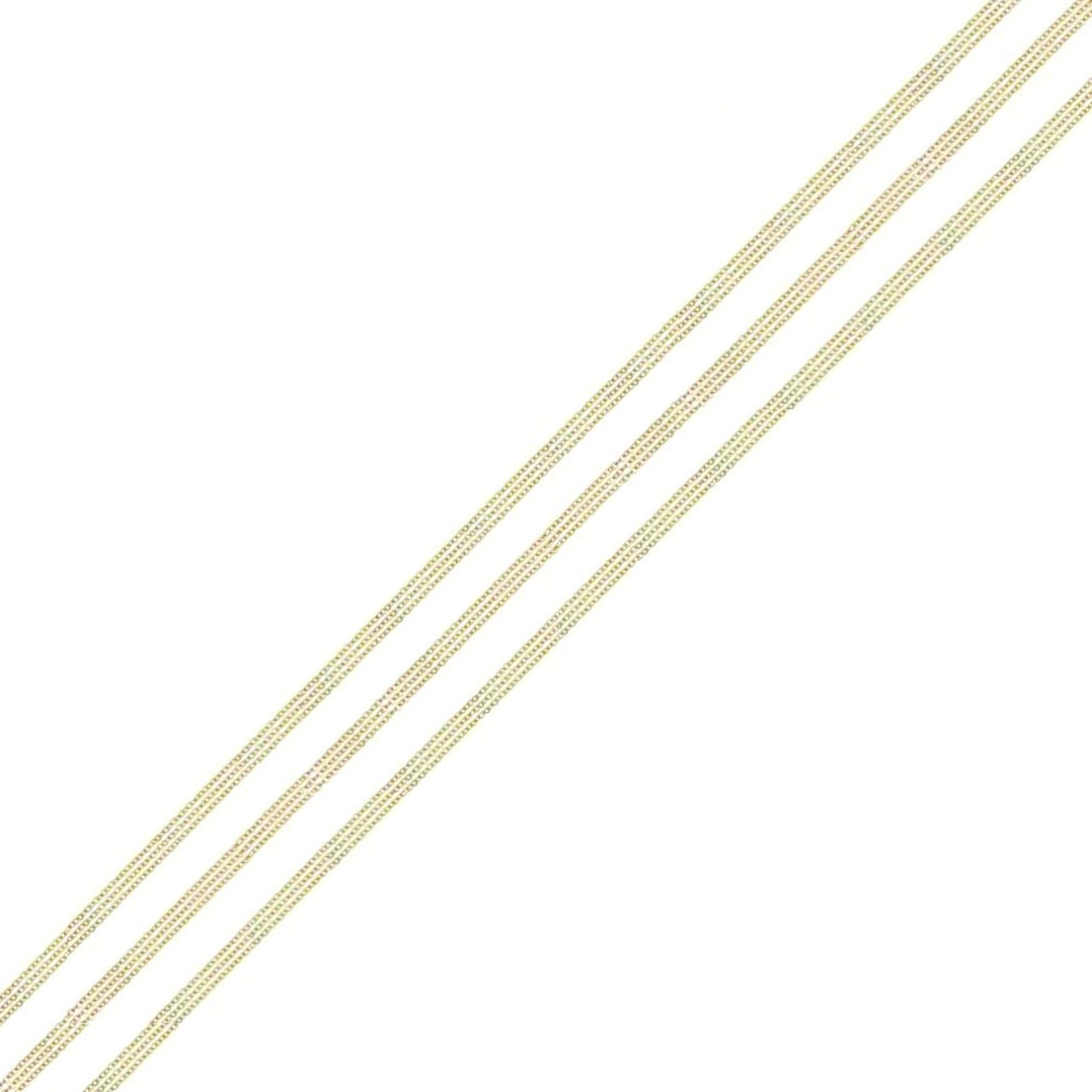 Quoins QK-EG2-50 Damen Kette Edelstahl gold 50 cm