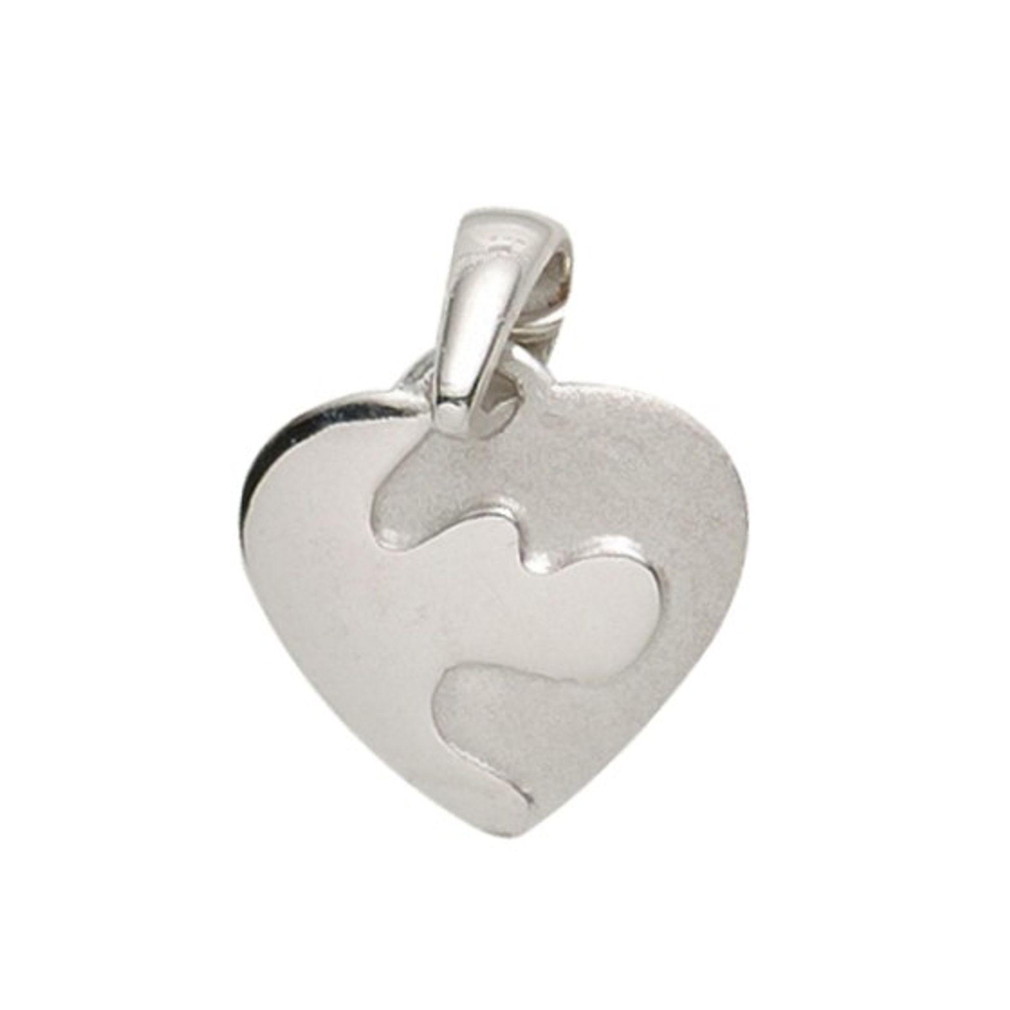 Basic Silber 21.1146S Damen Anhänger Herz Silber