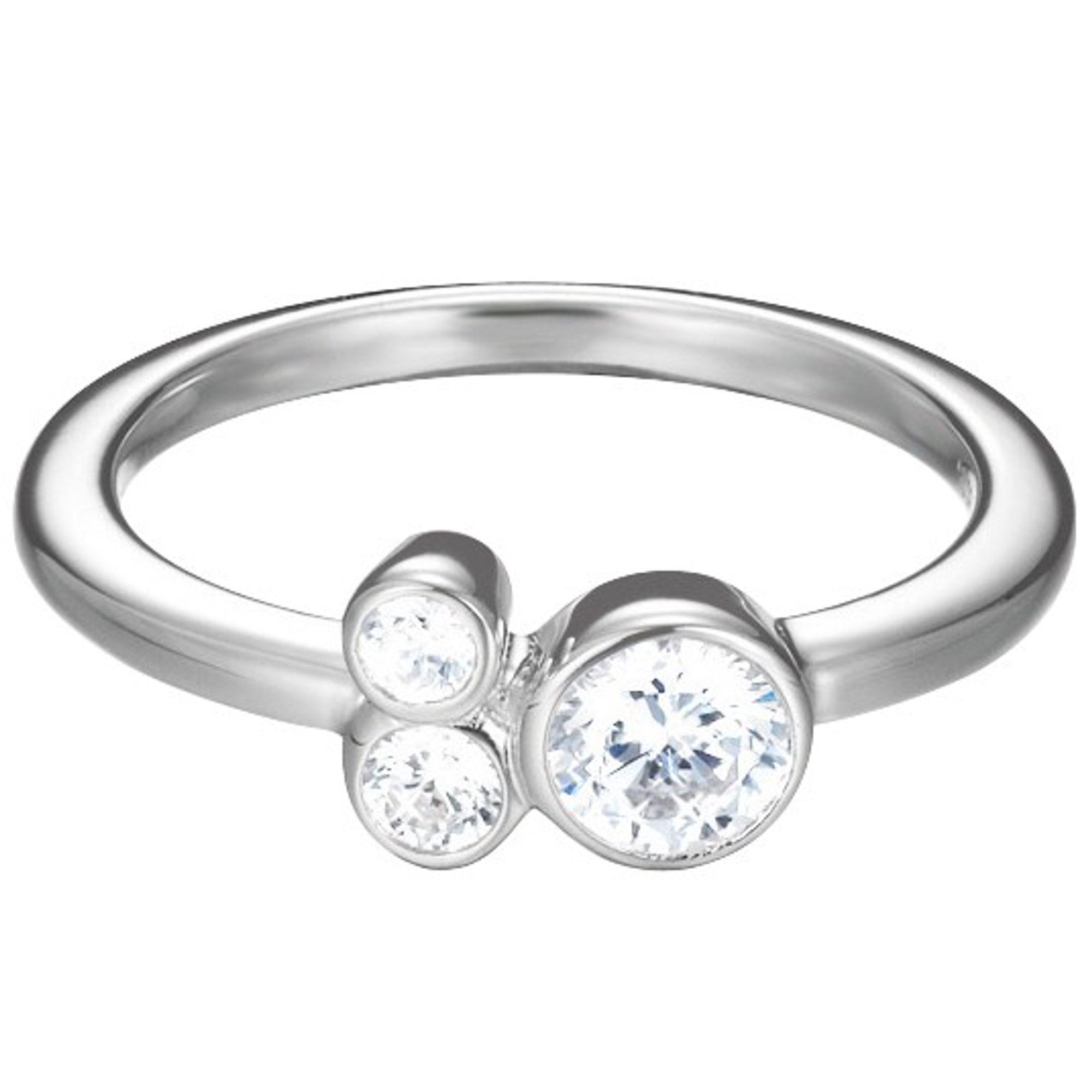 Esprit Damen Ring ES-SWEET PARFAIT Silber weiß 50 (15.9)