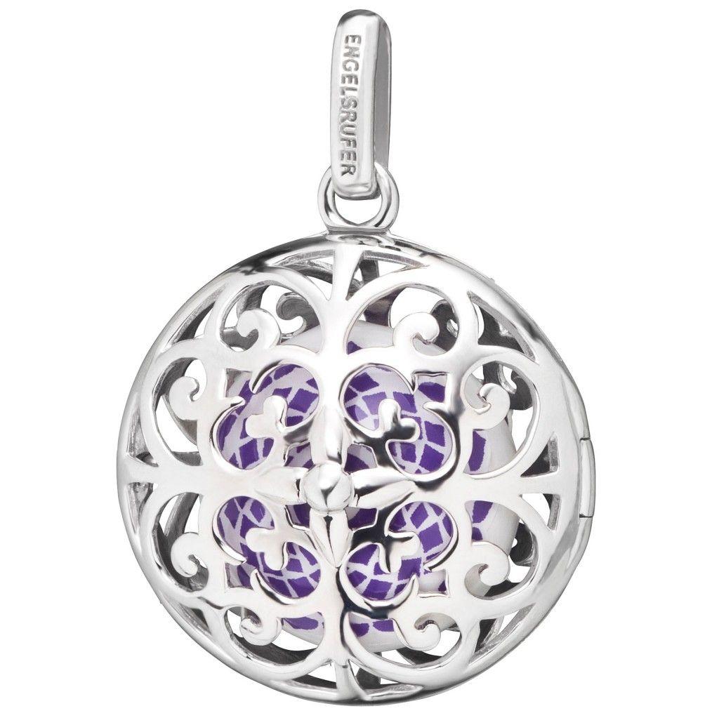 Engelsrufer Damen Anhänger Kronenchakra Silber lila