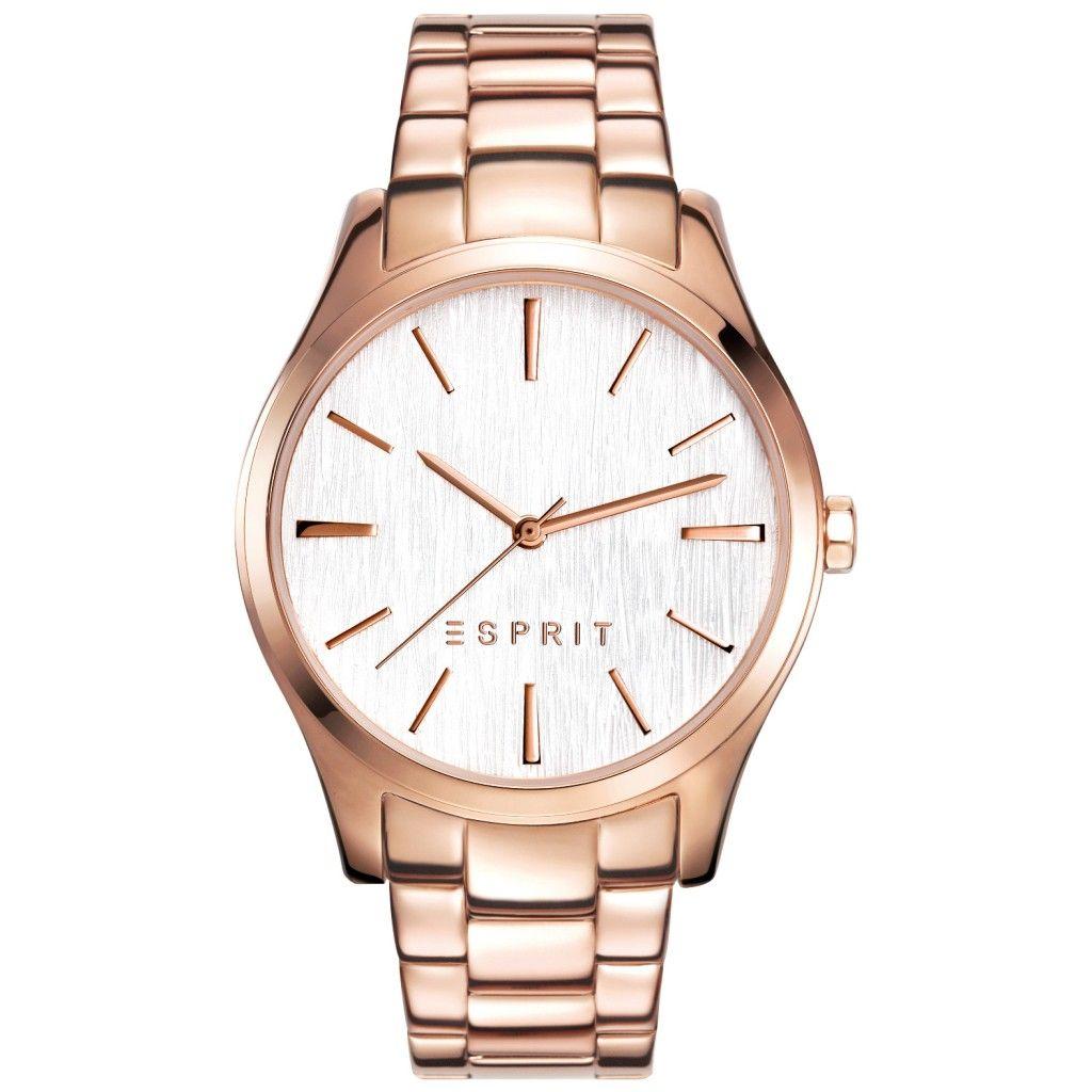 Esprit ES-AUDRY ROSE GOLD Uhr Damenuhr Edelstahl rosé