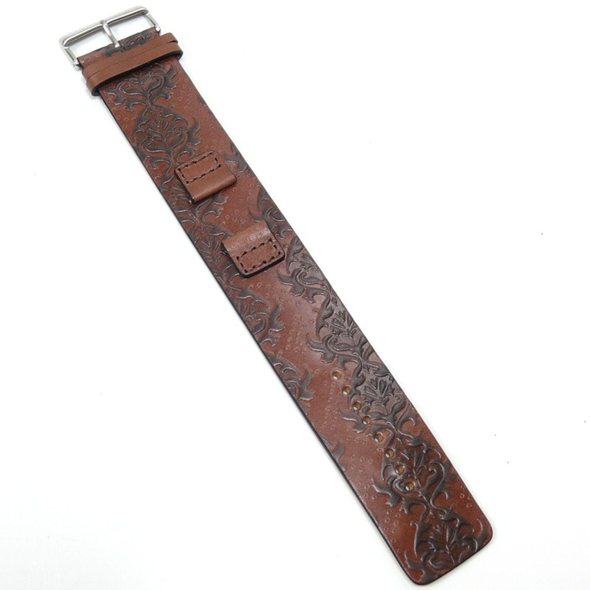 Fossil Uhrband LB-JR1008 Original Lederband 16 mm
