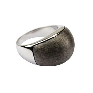 Quoins Damen Ring By Q Exclusive dunkelgrau 54 (17.2) – Bild 1