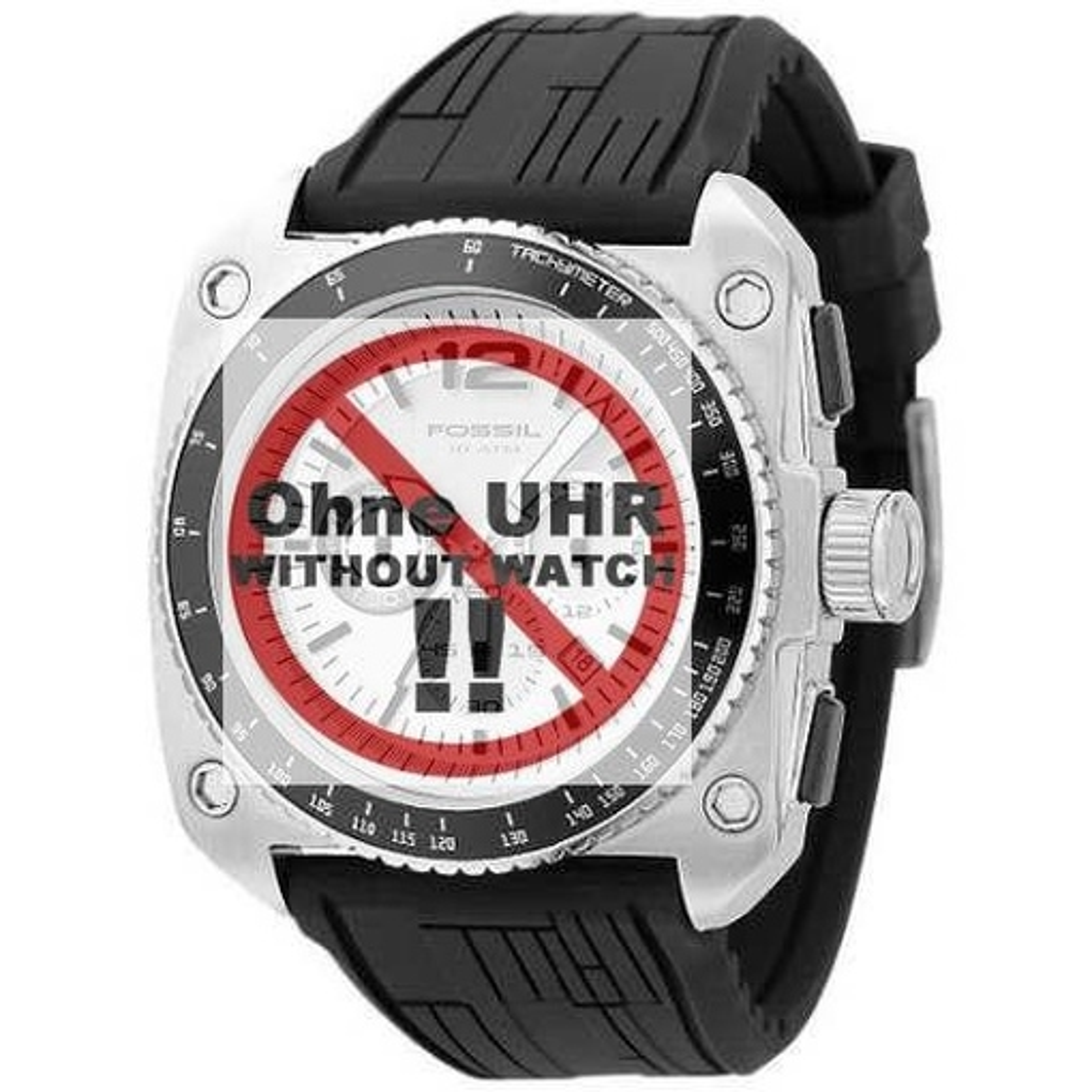 Fossil Uhrband LB-CH2576 Kautschuckband CH 2576