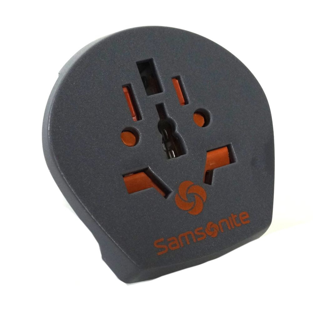 Samsonite 61608-1374 World/Europe Adaptor 2 Grau Adapter