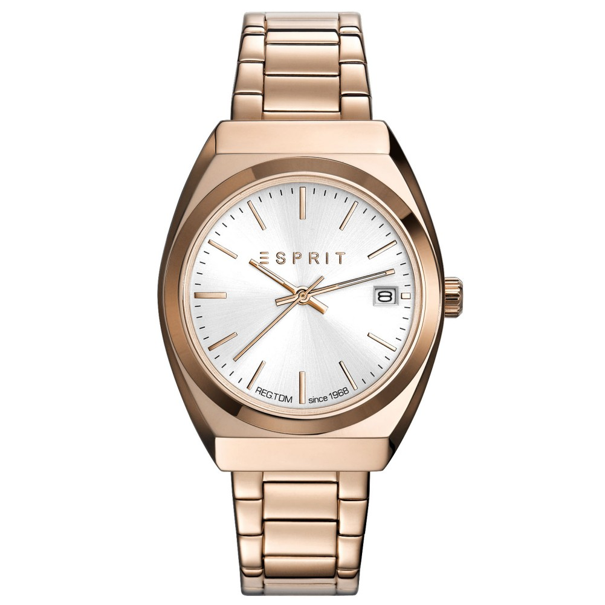 Esprit ES108522004 esprit-tp10852 rosé gold Uhr Damenuhr Datum rosé